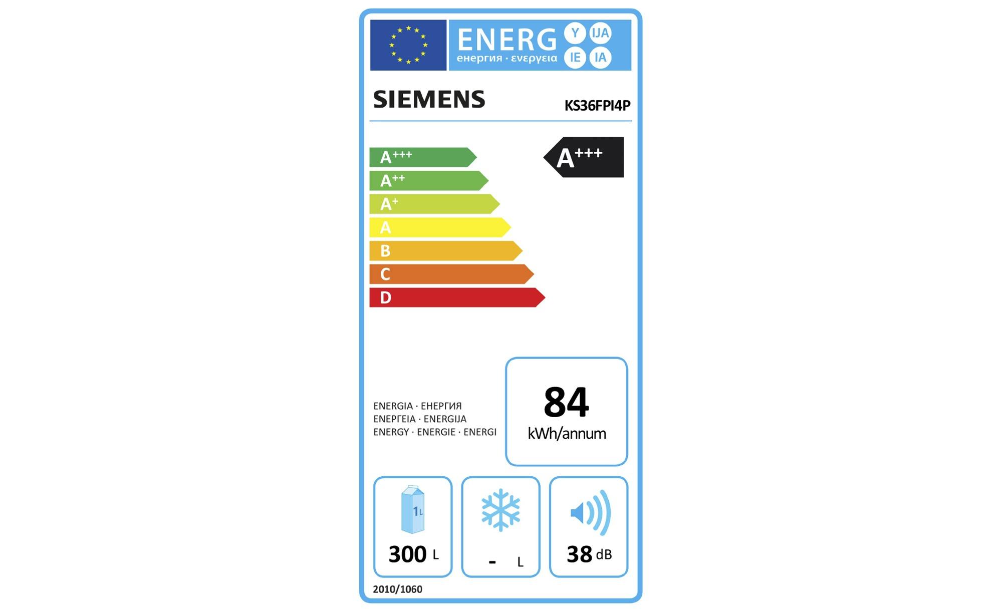 Siemens Kühlschrank Kg36vvl32 : Siemens side by side ka fpi p möbel höffner