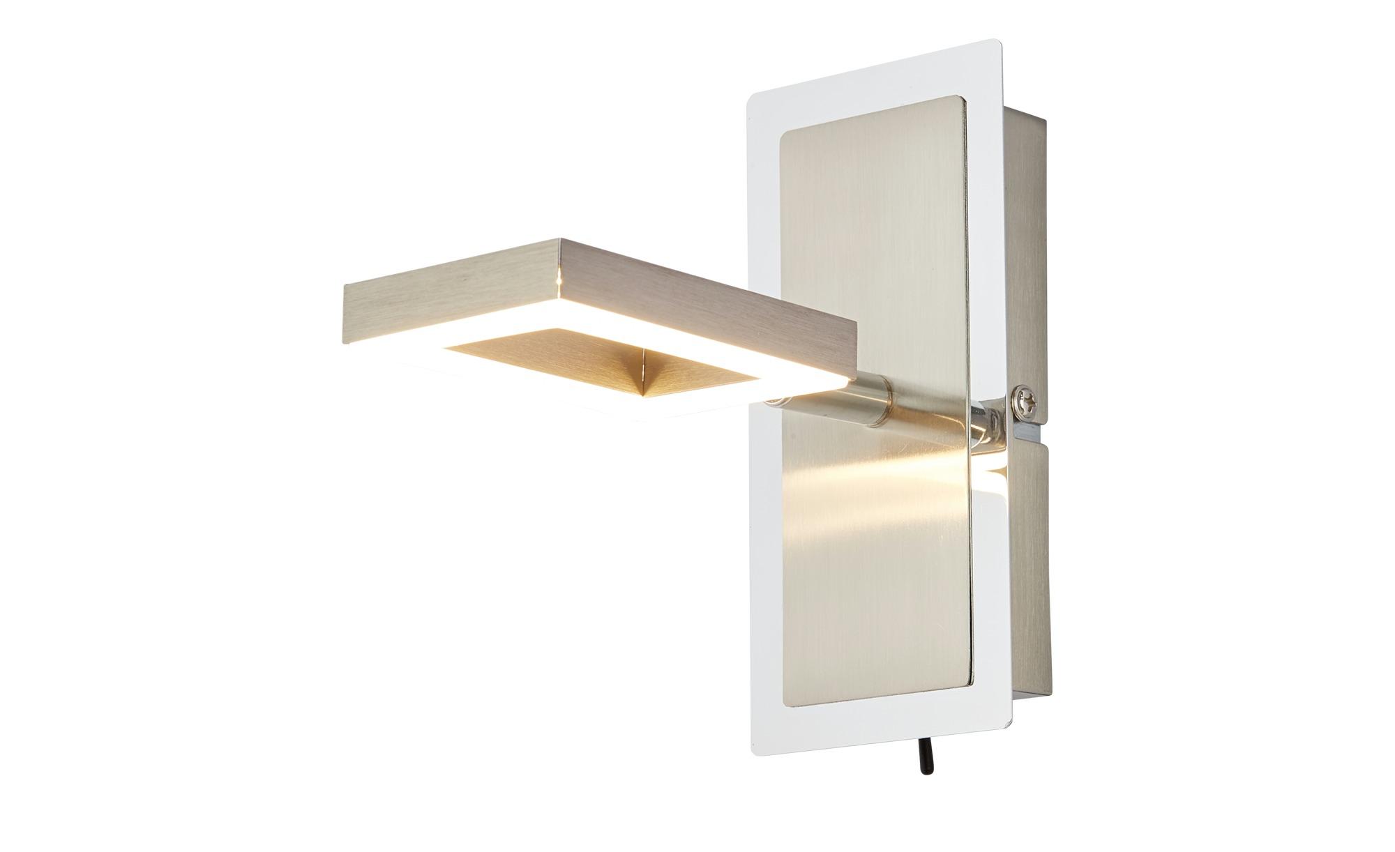 Paul Neuhaus LED- Strahler, 1-flammig, Leuchtelement quadratisch ¦ silber ¦ Maße (cm): H: 15,5 Lampen & Leuchten > LED-Leuchten > LED-Strahler & Spots - Höffner
