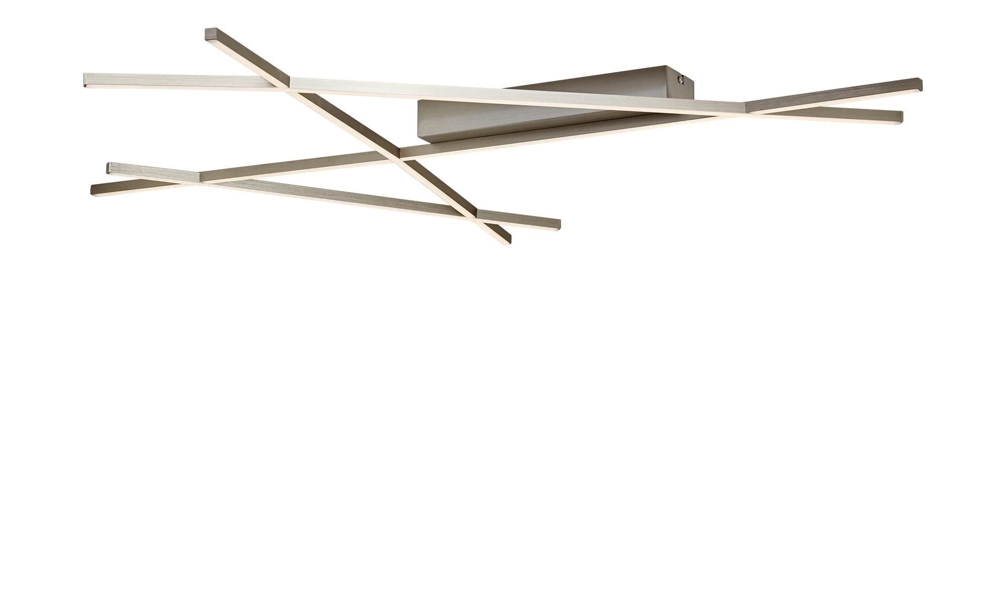 Paul Neuhaus LED- Deckenleuchte nickel matt im Stabdesign ¦ silber ¦ Maße (cm): B: 97 Lampen & Leuchten > Innenleuchten > Deckenleuchten - Höffner