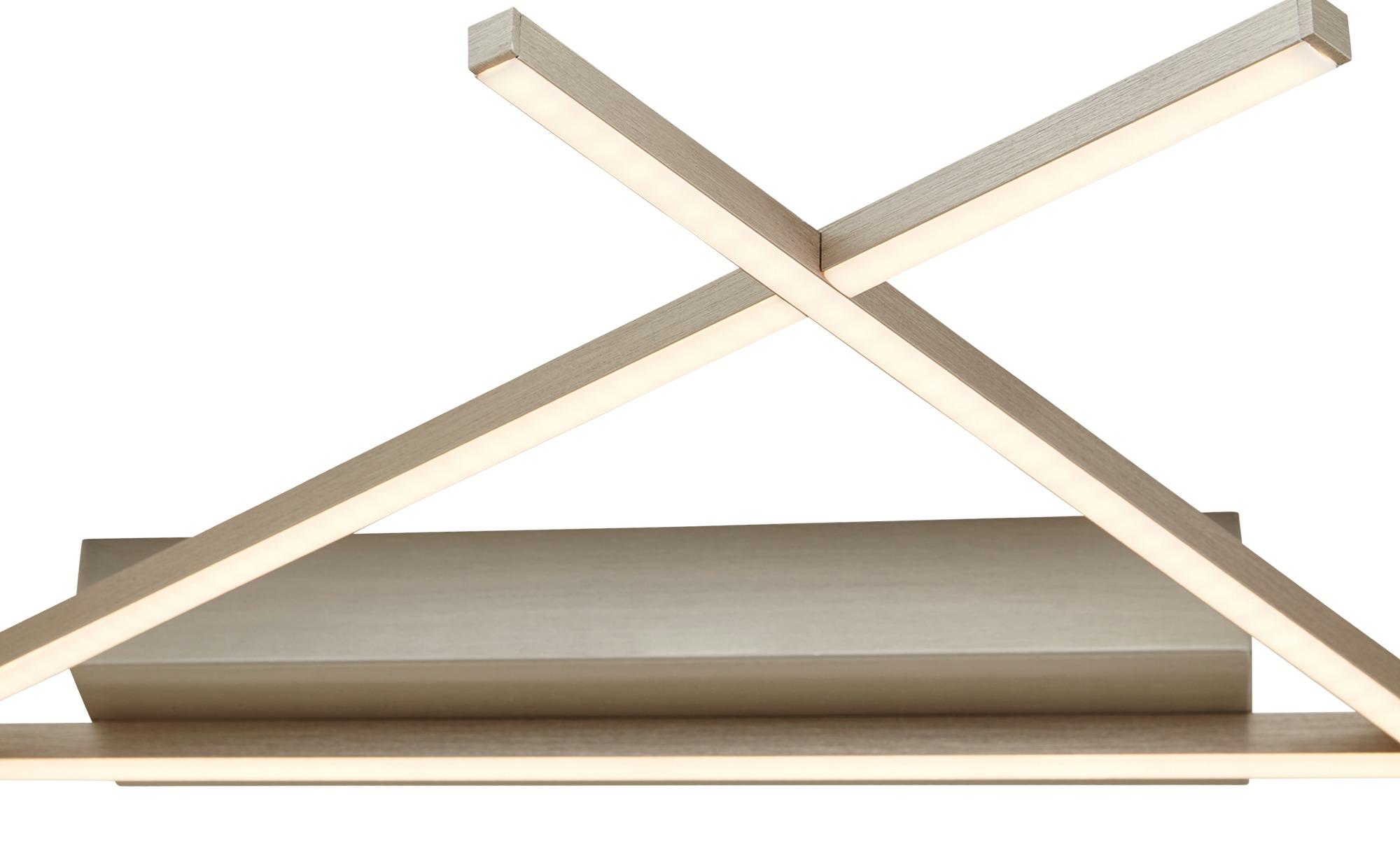 Paul Neuhaus LED- Deckenleuchte im Stabdesign mit Fernbedienung ¦ silber ¦ Maße (cm): B: 71,2 Lampen & Leuchten > Innenleuchten > Deckenleuchten - Höffner