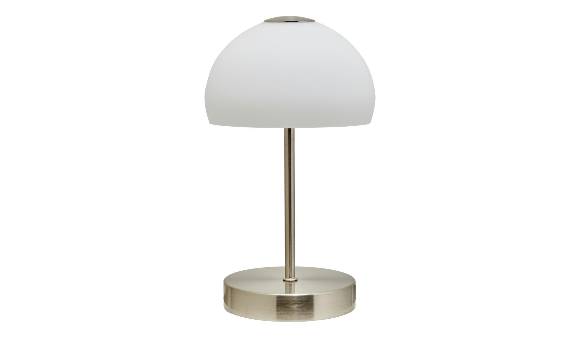 KHG LED- Tischleuchte, 1-flammig, mit Touchdimmer ¦ silber ¦ Maße (cm): H: 25 Ø: [13.0] Lampen & Leuchten > Innenleuchten > Tischlampen - Höffner