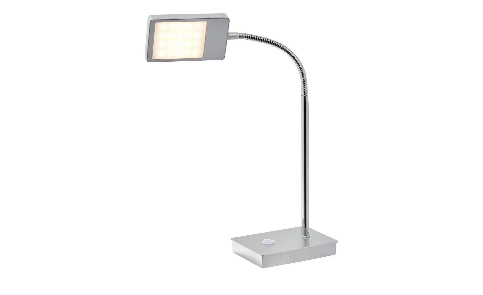 KHG LED- Tischleuchte silber ¦ silber ¦ Maße (cm): B: 9 H: 40 Lampen & Leuchten > Innenleuchten > Tischlampen - Höffner