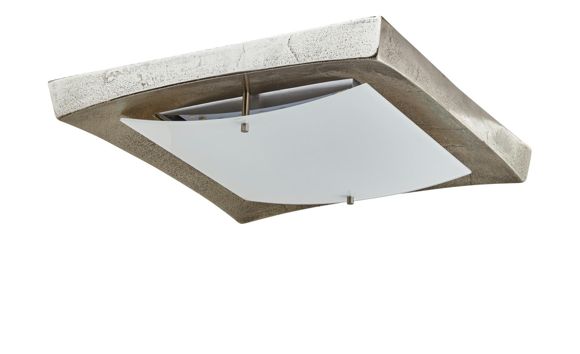 Fischer-Honsel LED-Deckenleuchte ¦ silber ¦ Maße (cm): B: 38 Lampen & Leuchten > Innenleuchten > Deckenleuchten - Höffner