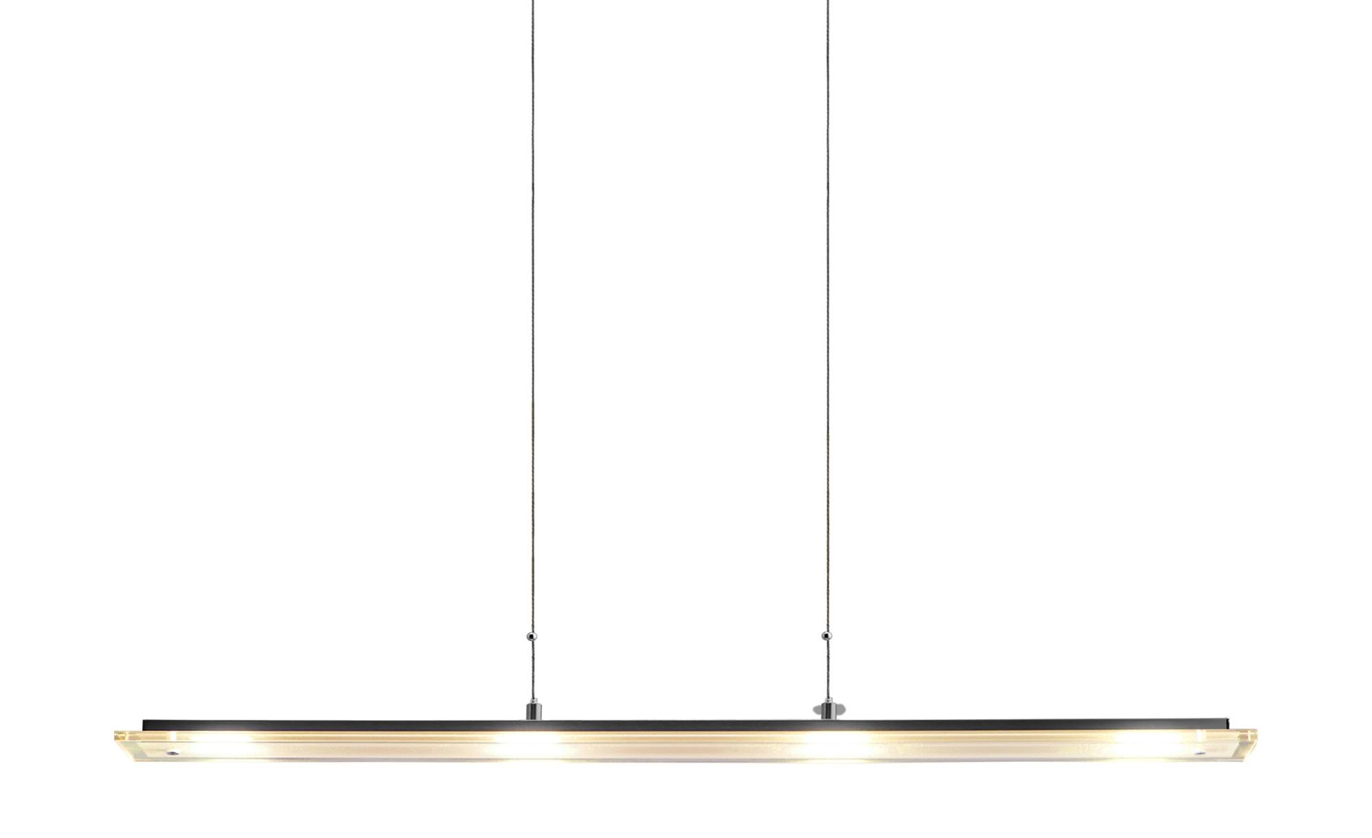 Fischer-Honsel LED-Pendelleuchte, nickel matt ¦ silber ¦ Maße (cm): B: 88 Lampen & Leuchten > LED-Leuchten > LED-Pendelleuchten - Höffner