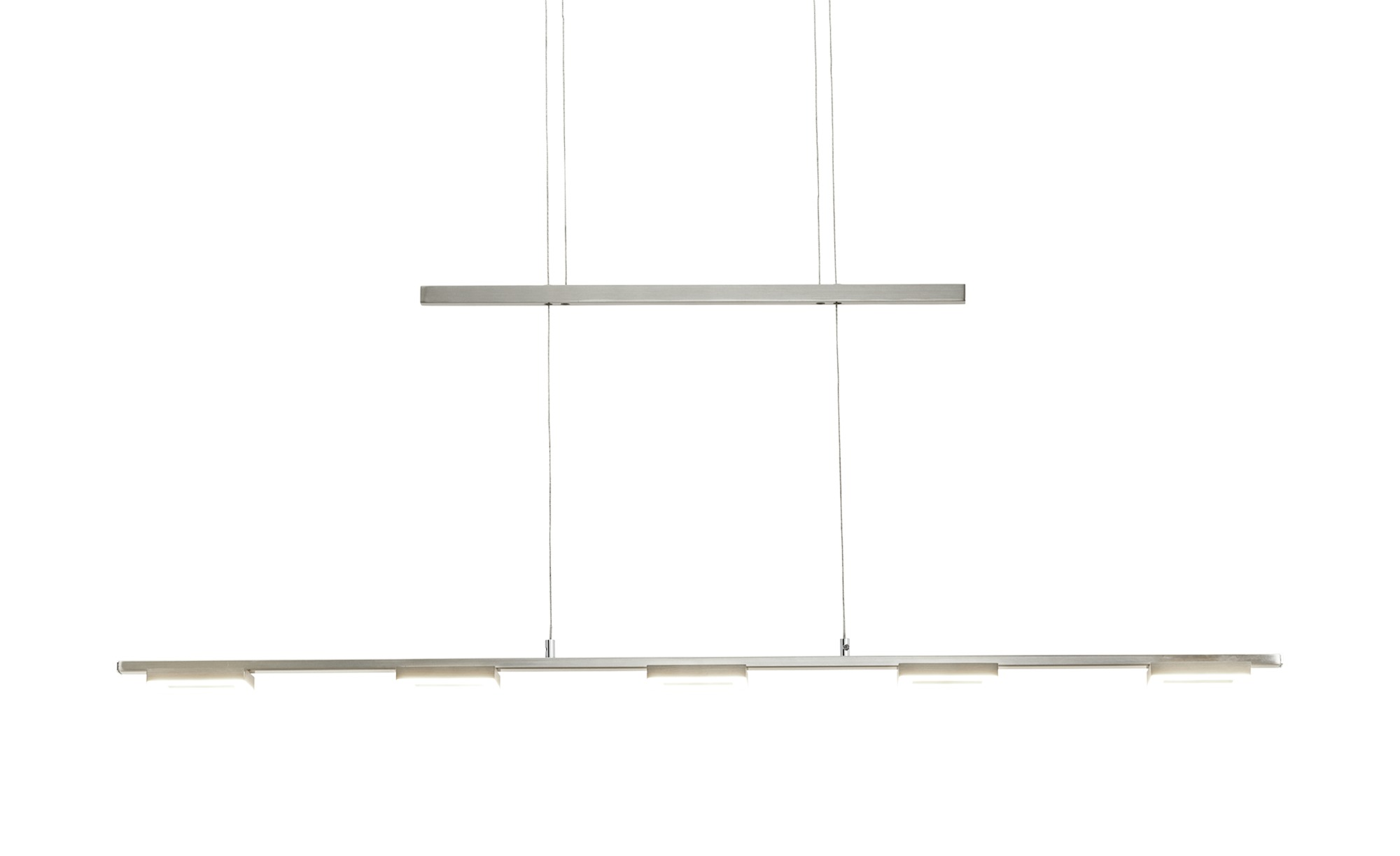 Paul Neuhaus LED-Pendelleuchte 5-flammig ¦ silber Lampen & Leuchten > LED-Leuchten > LED-Pendelleuchten - Höffner
