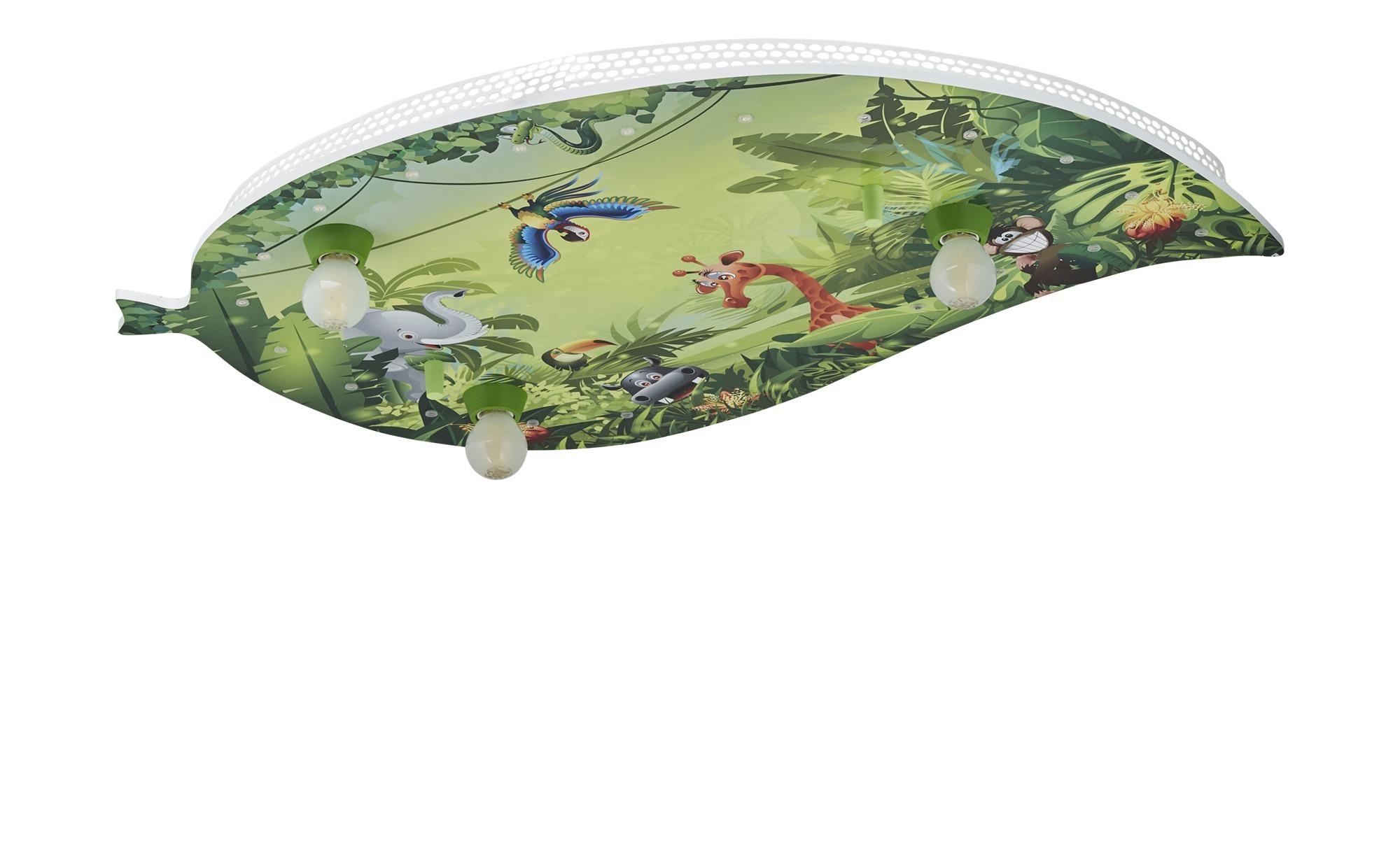 Deckenleuchte ´Wildnis´ ¦ grün ¦ Maße (cm): B: 50 Lampen & Leuchten > Innenleuchten > Kinderlampen - Höffner