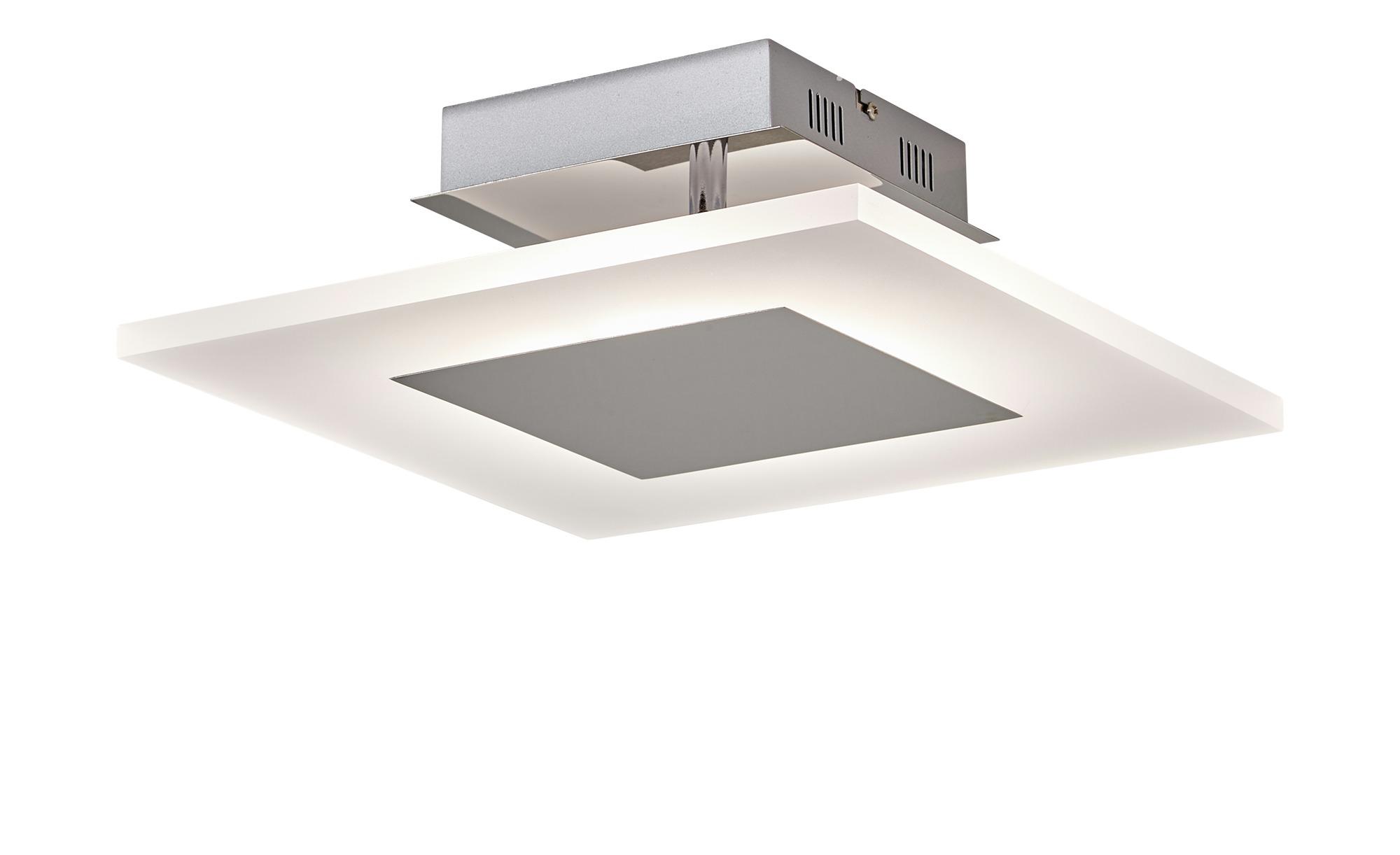 Paul Neuhaus LED- Deckenleuchte, 1-flammig, quadratisch ¦ silber ¦ Maße (cm): B: 35 Lampen & Leuchten > Innenleuchten > Deckenleuchten - Höffner