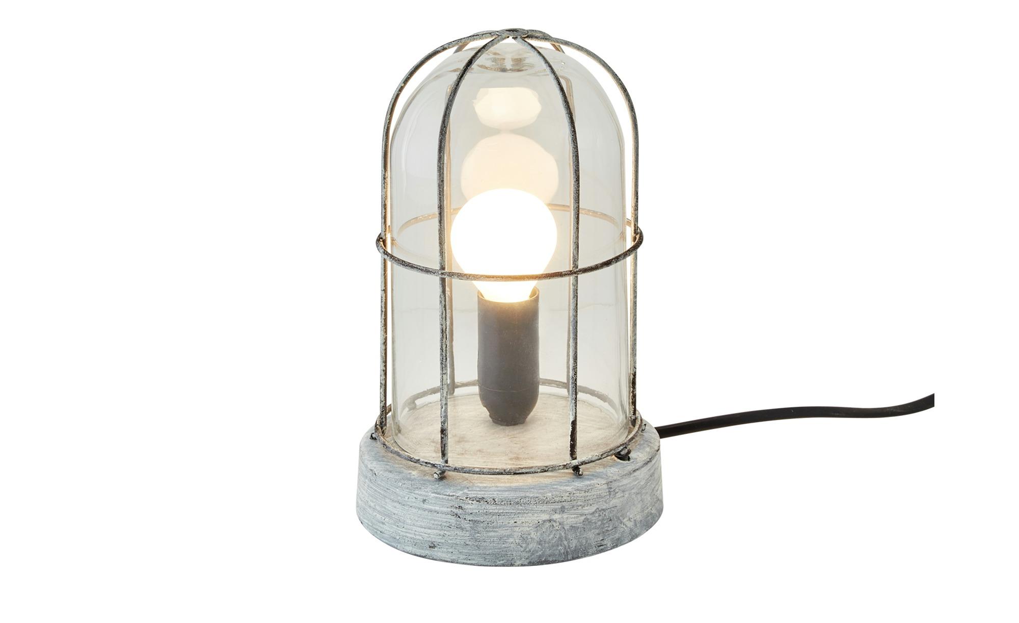 Trio Tischleuchte ¦ grau ¦ Maße (cm): H: 22 Ø: [12.5] Lampen & Leuchten > Innenleuchten > Tischlampen - Höffner