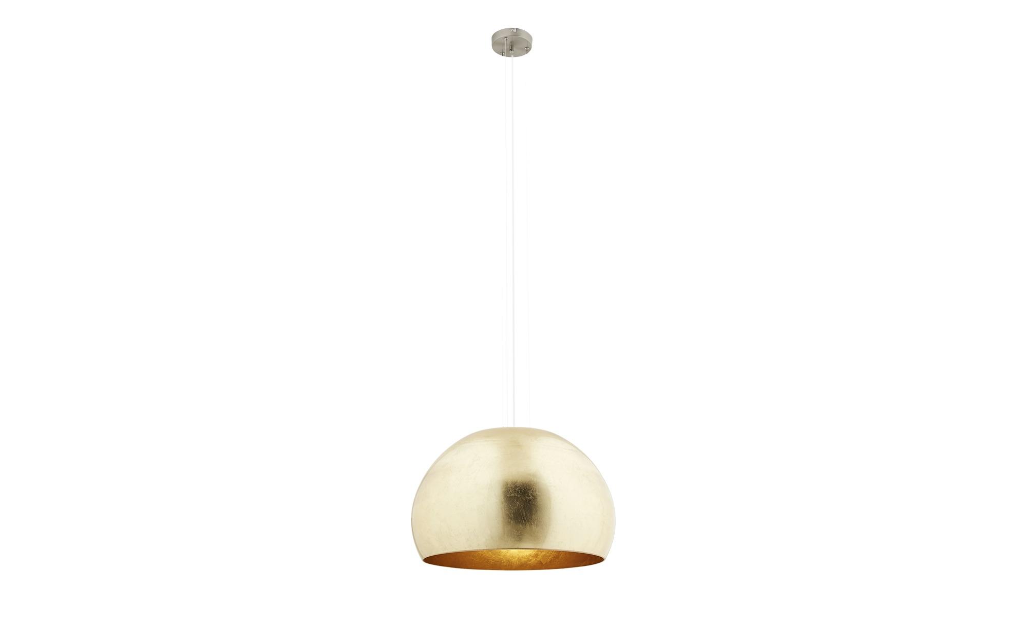 Trio Pendelleuchte, 1-flammig ¦ gold ¦ Maße (cm): H: 155 Ø: [51.0] Lampen & Leuchten > Innenleuchten > Pendelleuchten - Höffner