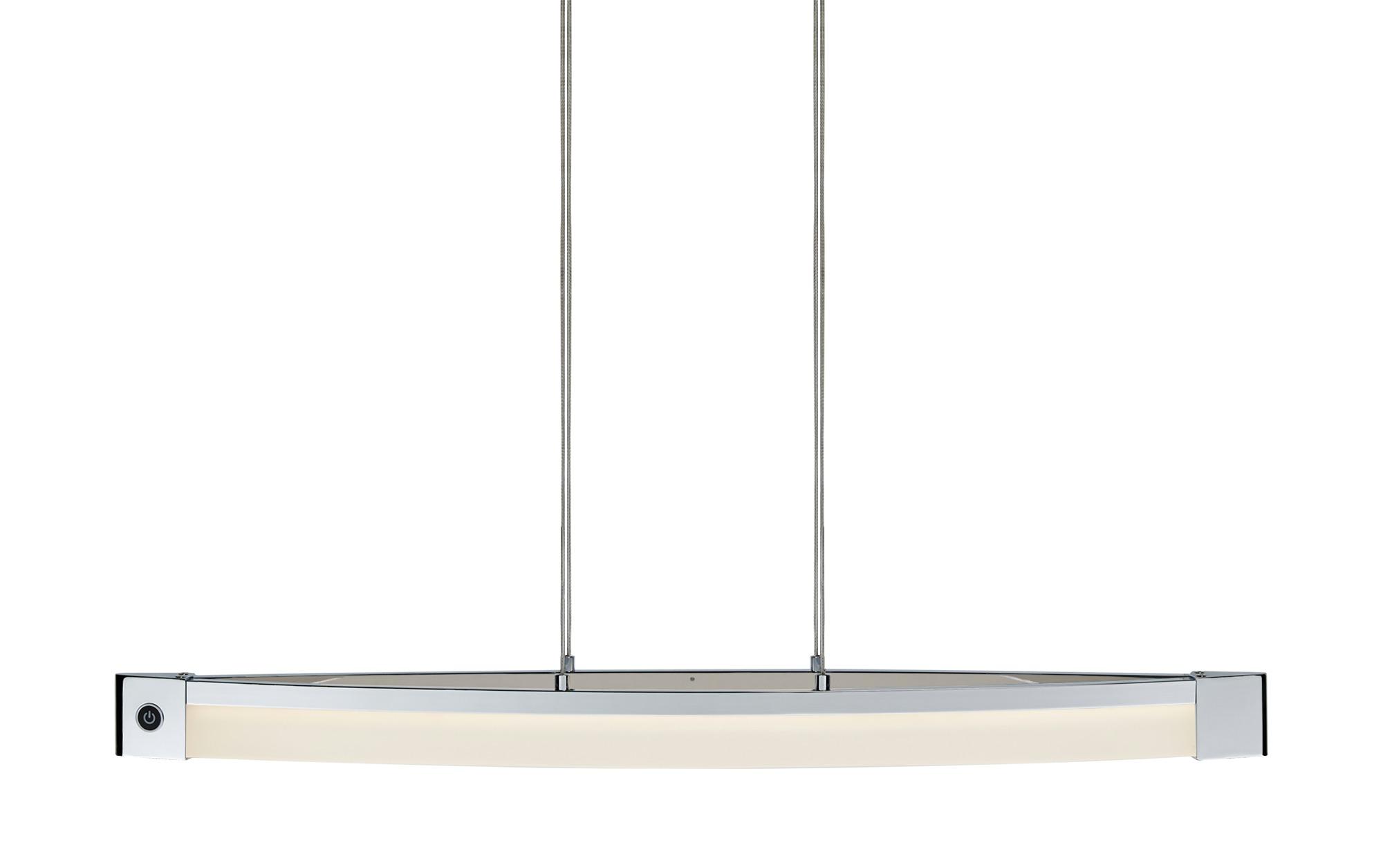 Wofi LED-Pendelleuchte ¦ silber ¦ Maße (cm): B: 13 H: 150 Lampen & Leuchten > LED-Leuchten > LED-Pendelleuchten - Höffner