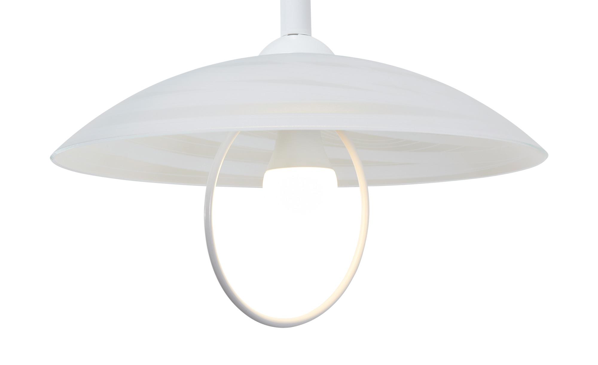 Küchenpendelleuchte, 1-flammig, weiß ¦ weiß ¦ Maße (cm): H: 100 Ø: 40 Lampen & Leuchten > Innenleuchten > Pendelleuchten - Höffner