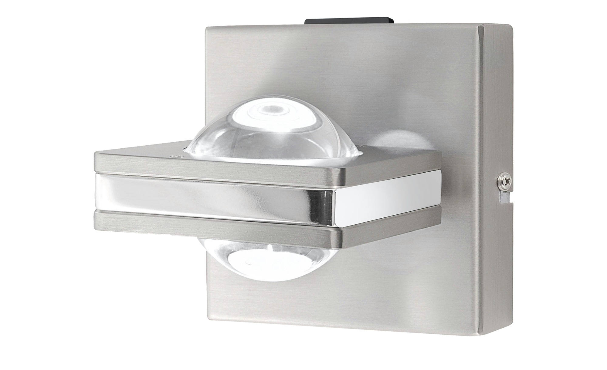 Q-Smart Home Lights Wandleuchte, 2-flammig, Nickel matt ¦ silber ¦ Maße (cm): B: 11 Lampen & Leuchten > Innenleuchten > Wandleuchten - Höffner