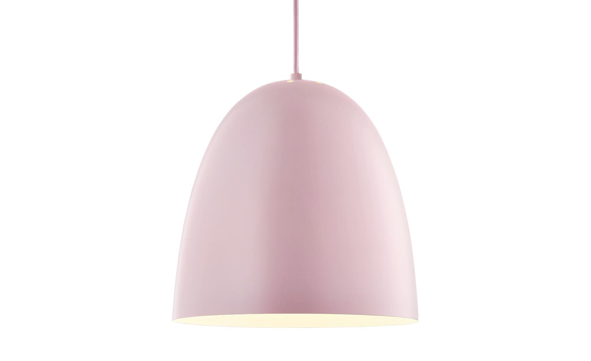Pendelleuchte, 1-flammig, rosa ¦ rosa/pink ¦ Maße (cm): H: 150 Ø: 30 Lampen & Leuchten > Innenleuchten > Pendelleuchten - Höffner