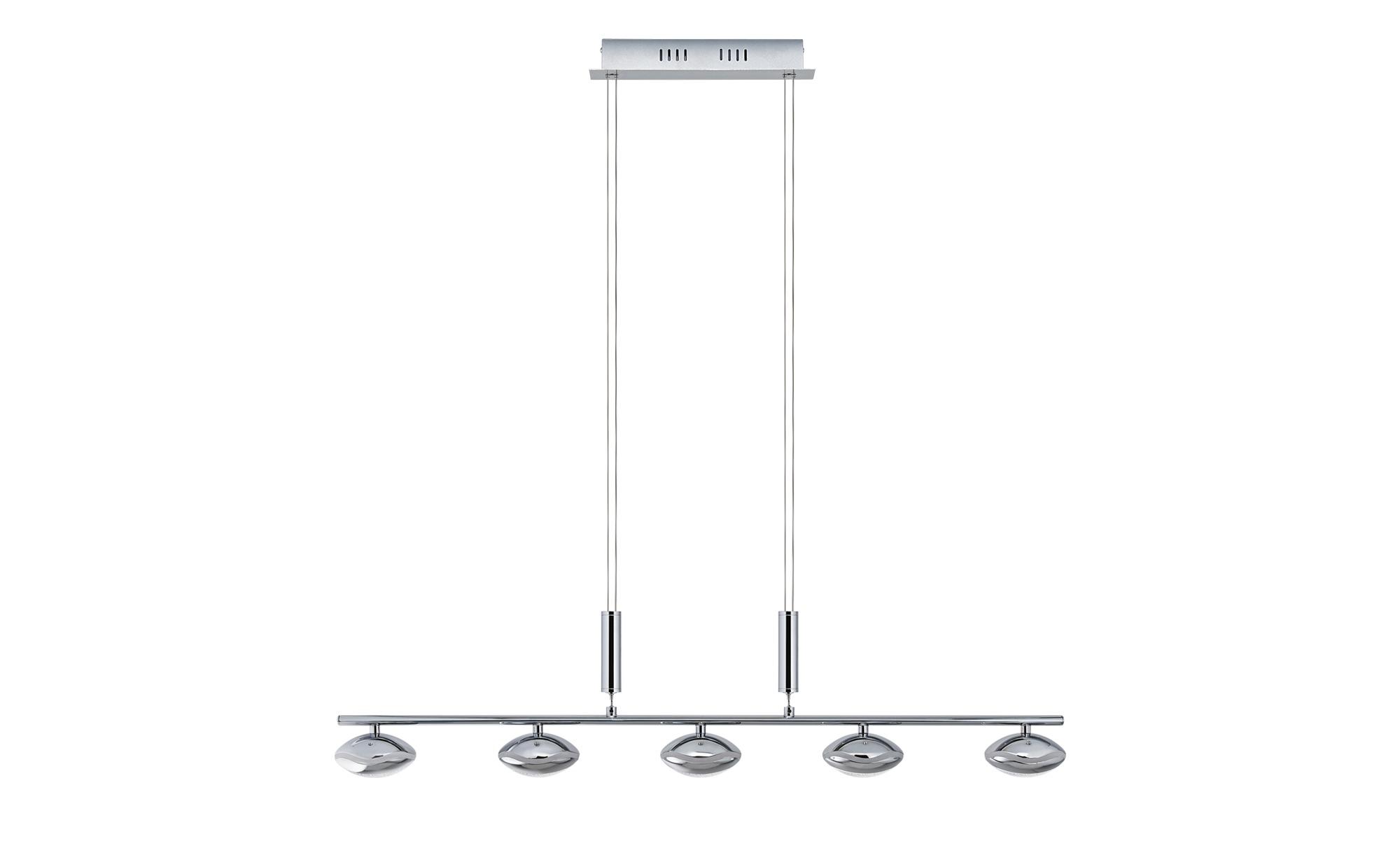 Paul Sommerkamp Leuchten LED-Pendelleuchte, 5-flammig ¦ silber ¦ Maße (cm): B: 10 H: 150 Lampen & Leuchten > LED-Leuchten > LED-Pendelleuchten - Höffner