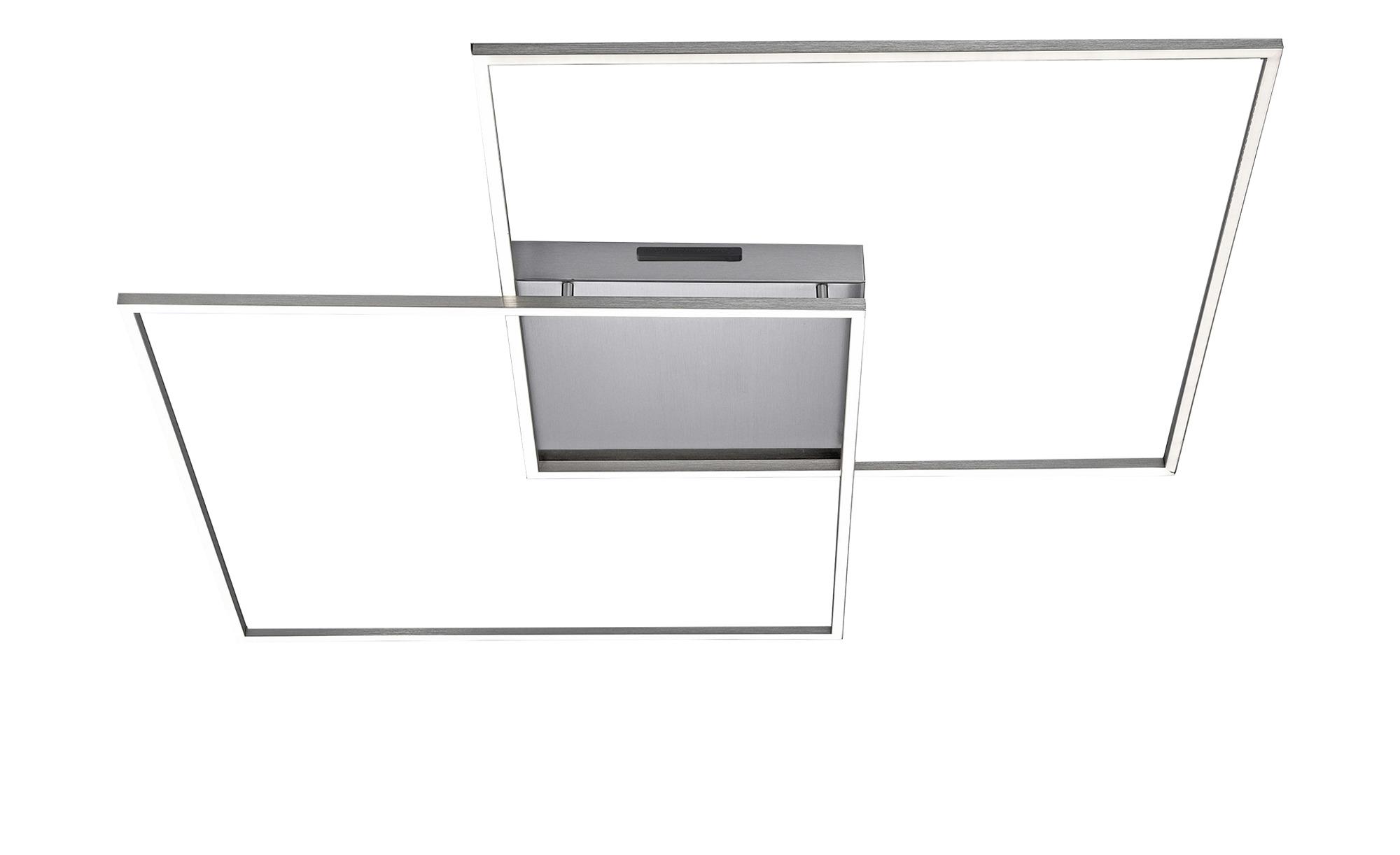 Q-Smart Home Lights Deckenleuchte, 2-flammig, Nickel matt ¦ silber ¦ Maße (cm): B: 90 H: 6,5 Lampen & Leuchten > Innenleuchten > Deckenleuchten - Höffner