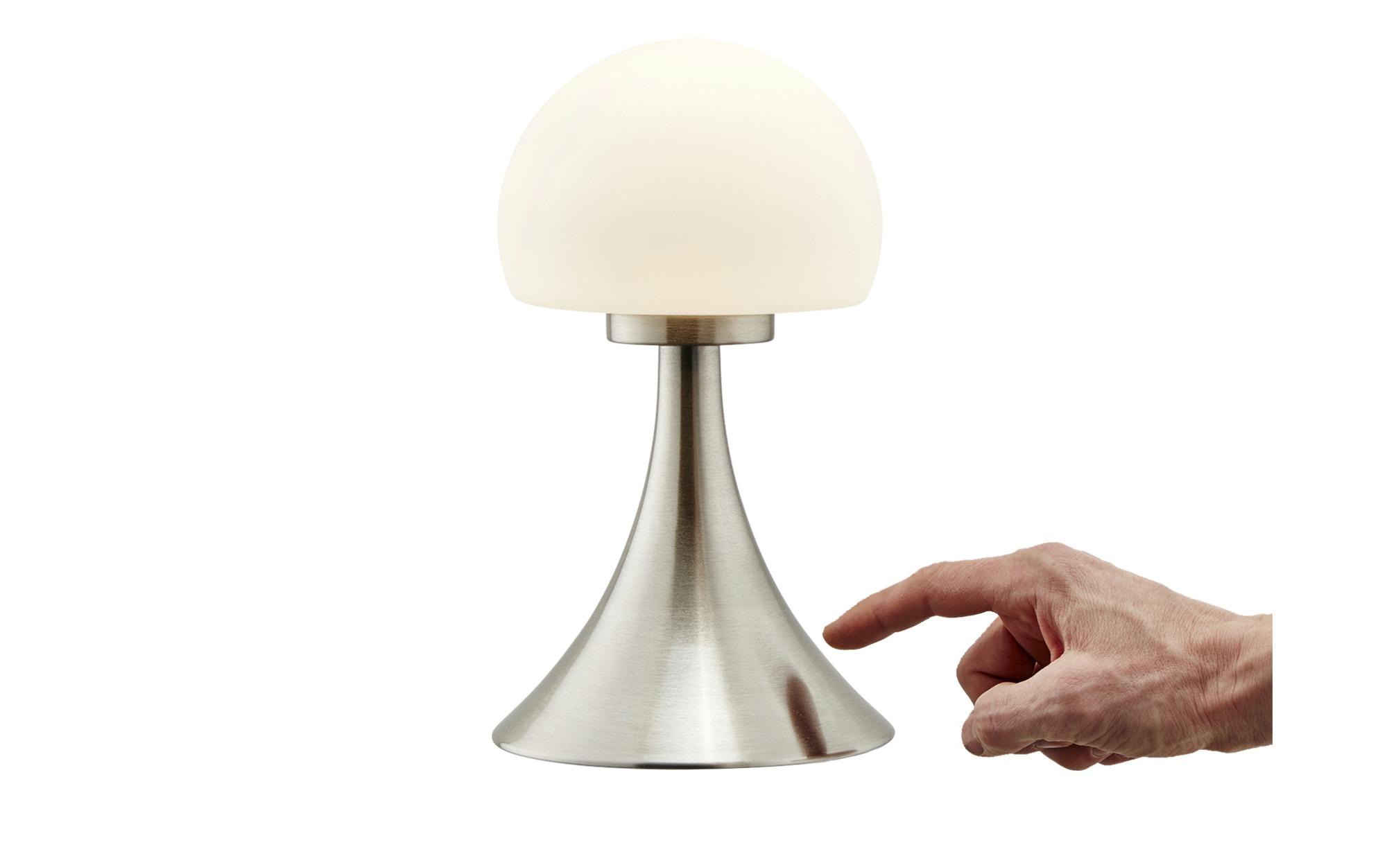KHG LED-Tischleuchte, 1-flammig ¦ silber ¦ Maße (cm): H: 26 Ø: [15.0] Lampen & Leuchten > Innenleuchten > Tischlampen - Höffner