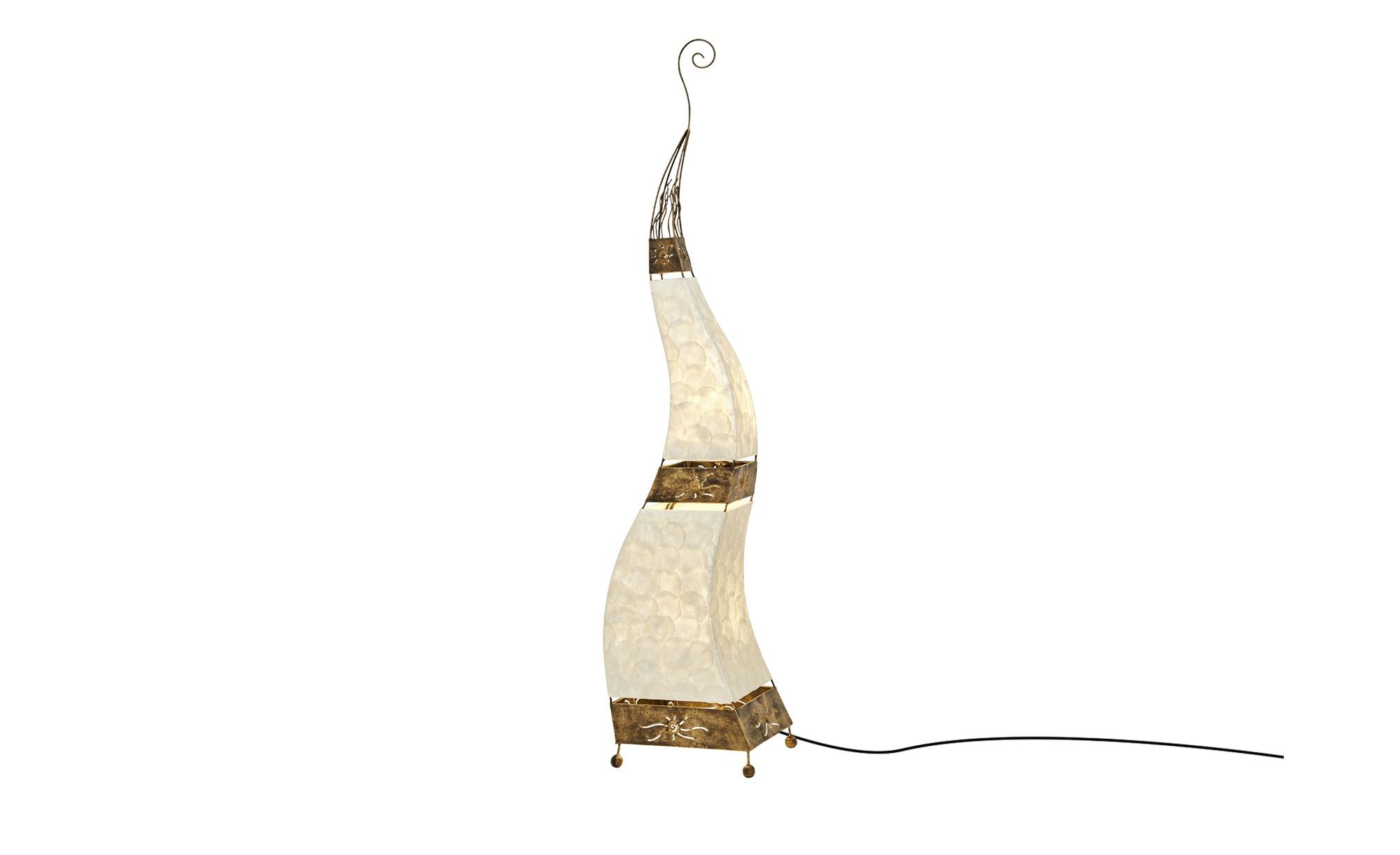Paul Neuhaus Stehleuchte 2-flammig Oriental-Style ¦ braun ¦ Maße (cm): H: 150 Lampen & Leuchten > Innenleuchten > Stehlampen - Höffner