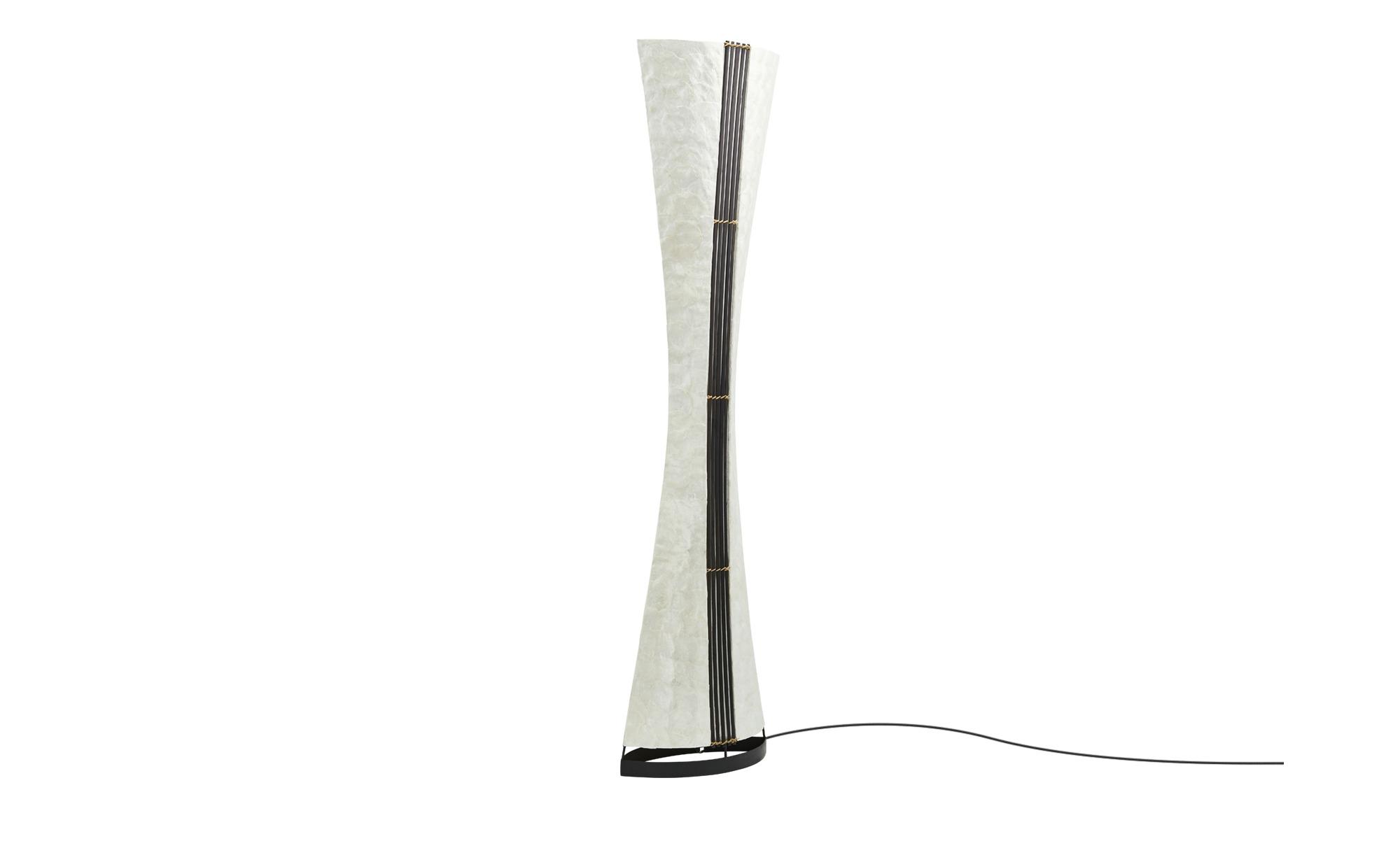 Paul Neuhaus Stehleuchte mit Muscheldekor ¦ braun ¦ Maße (cm): H: 150 Lampen & Leuchten > Innenleuchten > Stehlampen - Höffner
