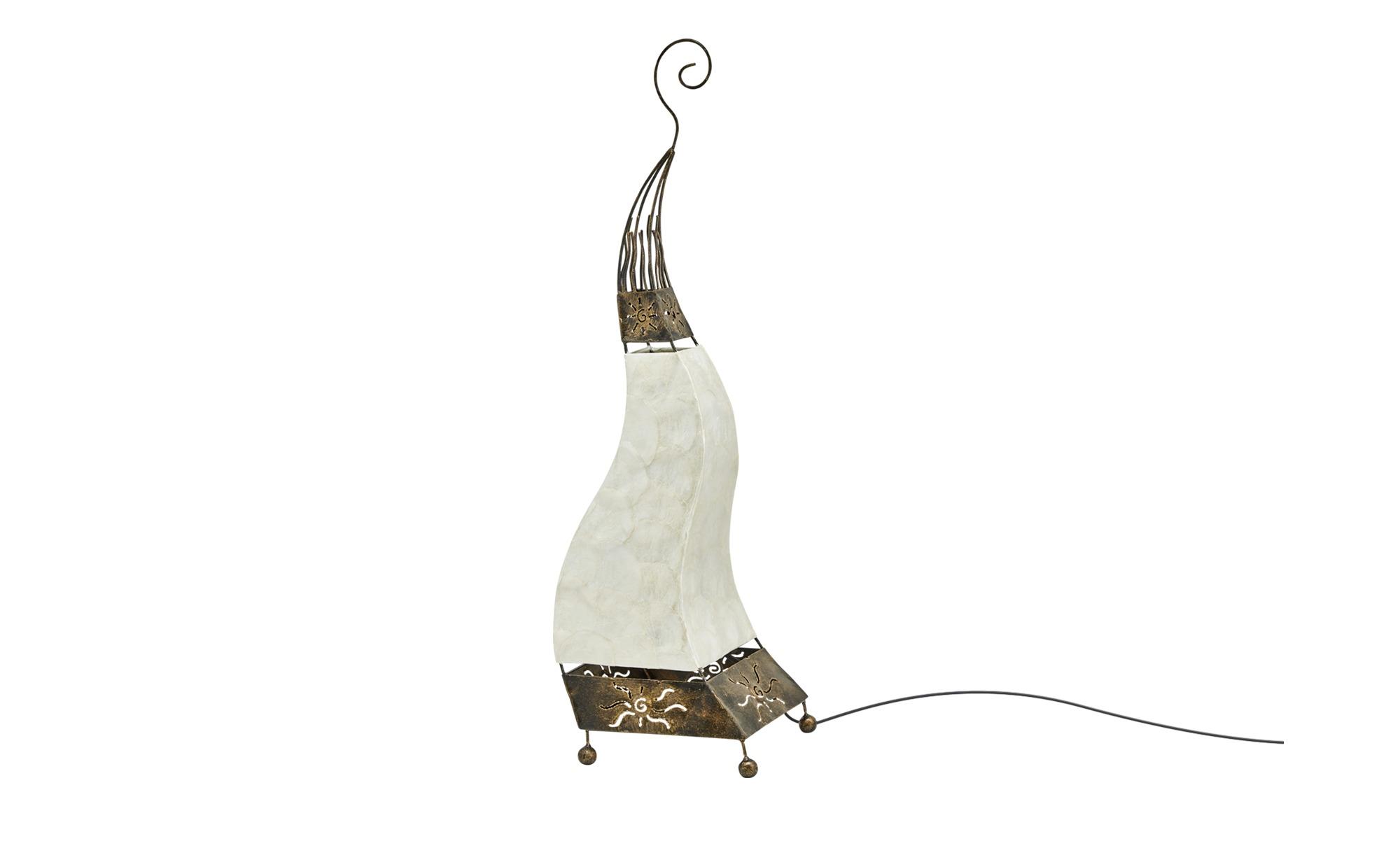 Paul Neuhaus Tischleuchte, 1-flammig, Oriental-Style ¦ braun ¦ Maße (cm): H: 73 Lampen & Leuchten > Innenleuchten > Tischlampen - Höffner