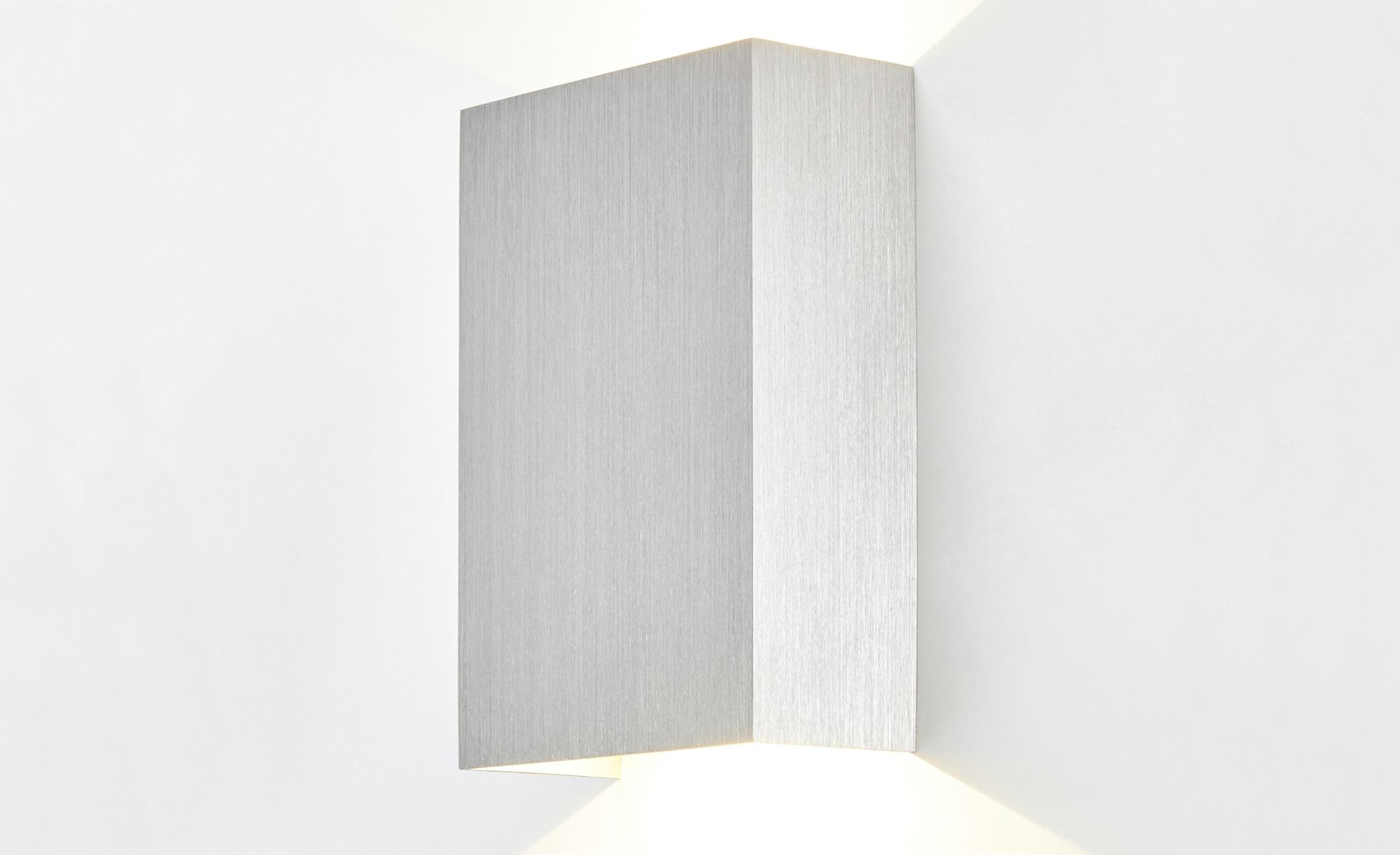 Meisterleuchten LED-Wandleuchte, 2-flammig Nickel matt ¦ silber ¦ Maße (cm): B: 10 H: 4,7 Lampen & Leuchten > Innenleuchten > Wandleuchten - Höffner