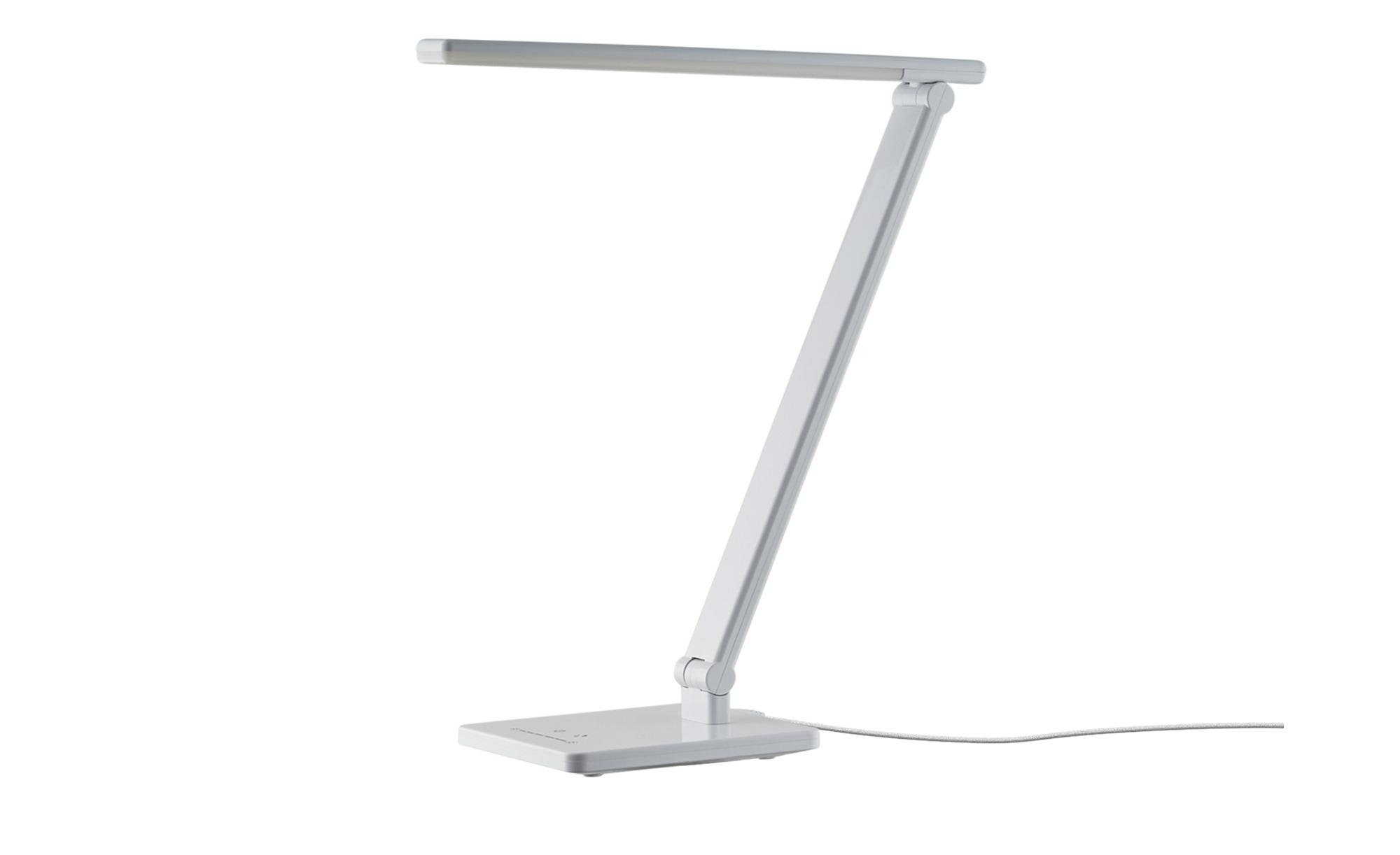 KHG LED-Tischleuchte, Weiß ¦ weiß ¦ Maße (cm): B: 16 H: 39 Lampen & Leuchten > Innenleuchten > Tischlampen - Höffner