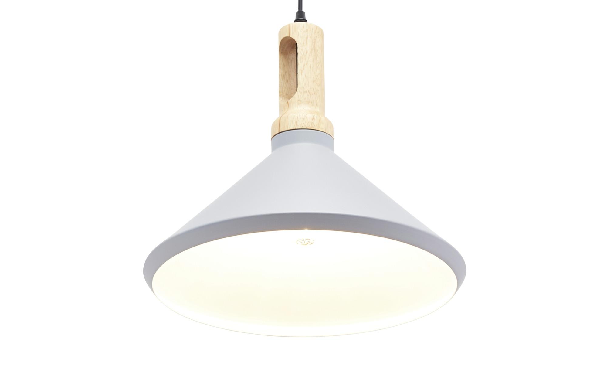 HOME STORY Pendelleuchte, 1-flammig grau ¦ grau ¦ Maße (cm): H: 150 Ø: 35 Lampen & Leuchten > Innenleuchten > Pendelleuchten - Höffner