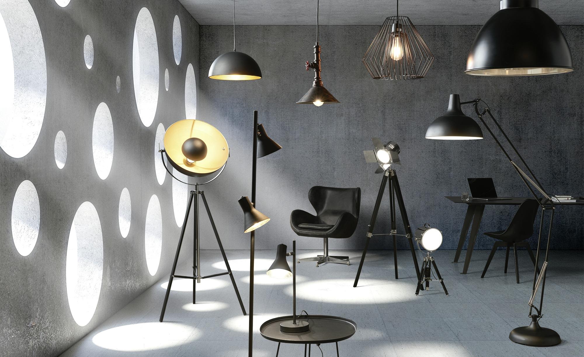 HOME STORY Pendelleuchte, 1-flammig, schwarz ¦ schwarz ¦ Maße (cm): H: 120 Ø: 33 Lampen & Leuchten > Innenleuchten > Pendelleuchten - Höffner