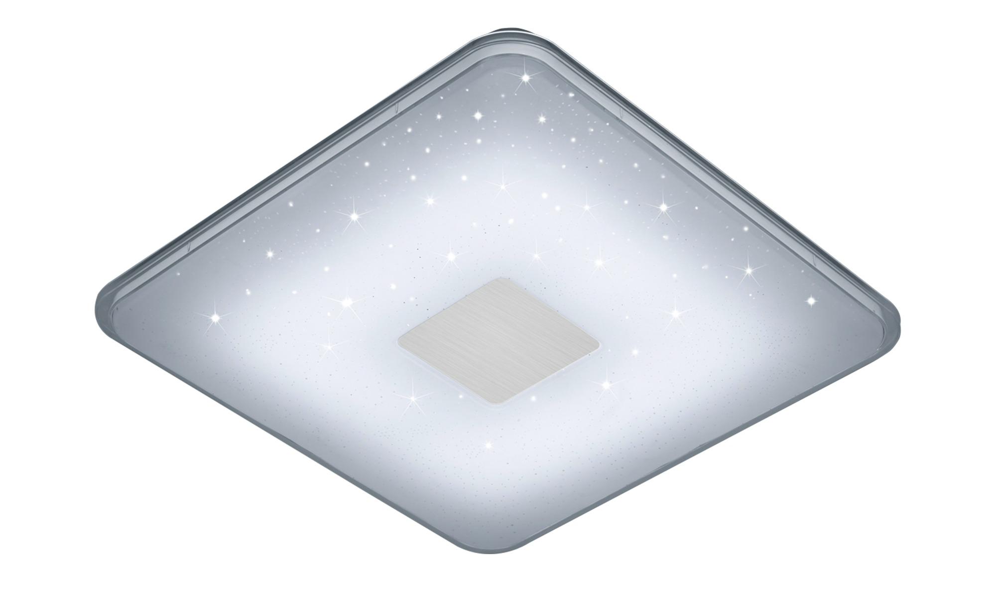 Trio LED-Deckenleuchte, Glas mit Effekt ¦ weiß ¦ Maße (cm): B: 42,5 H: 6 Lampen & Leuchten > Innenleuchten > Deckenleuchten - Höffner