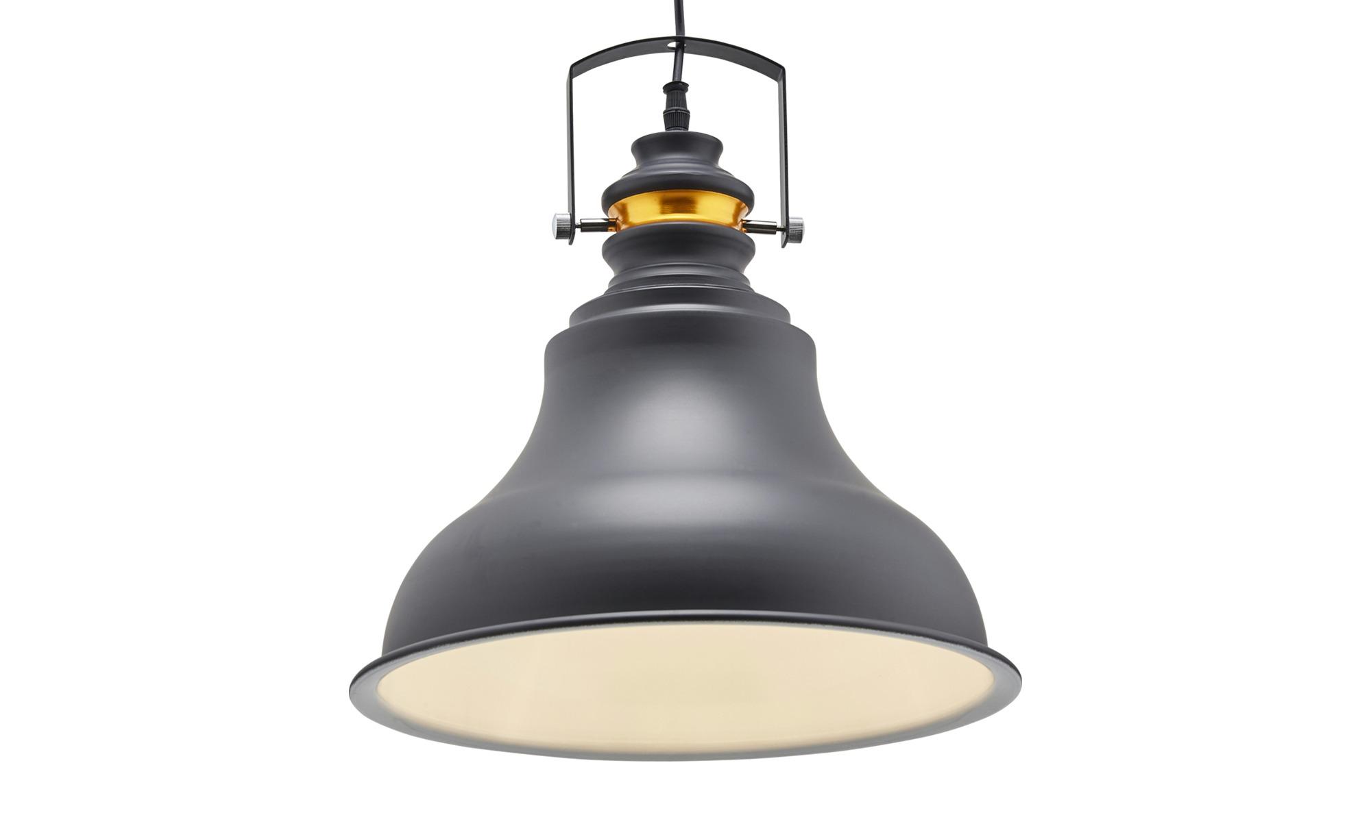 HOME STORY Pendelleuchte, 1-flammig schwarz ¦ schwarz ¦ Maße (cm): H: 150 Ø: 36 Lampen & Leuchten > Innenleuchten > Pendelleuchten - Höffner