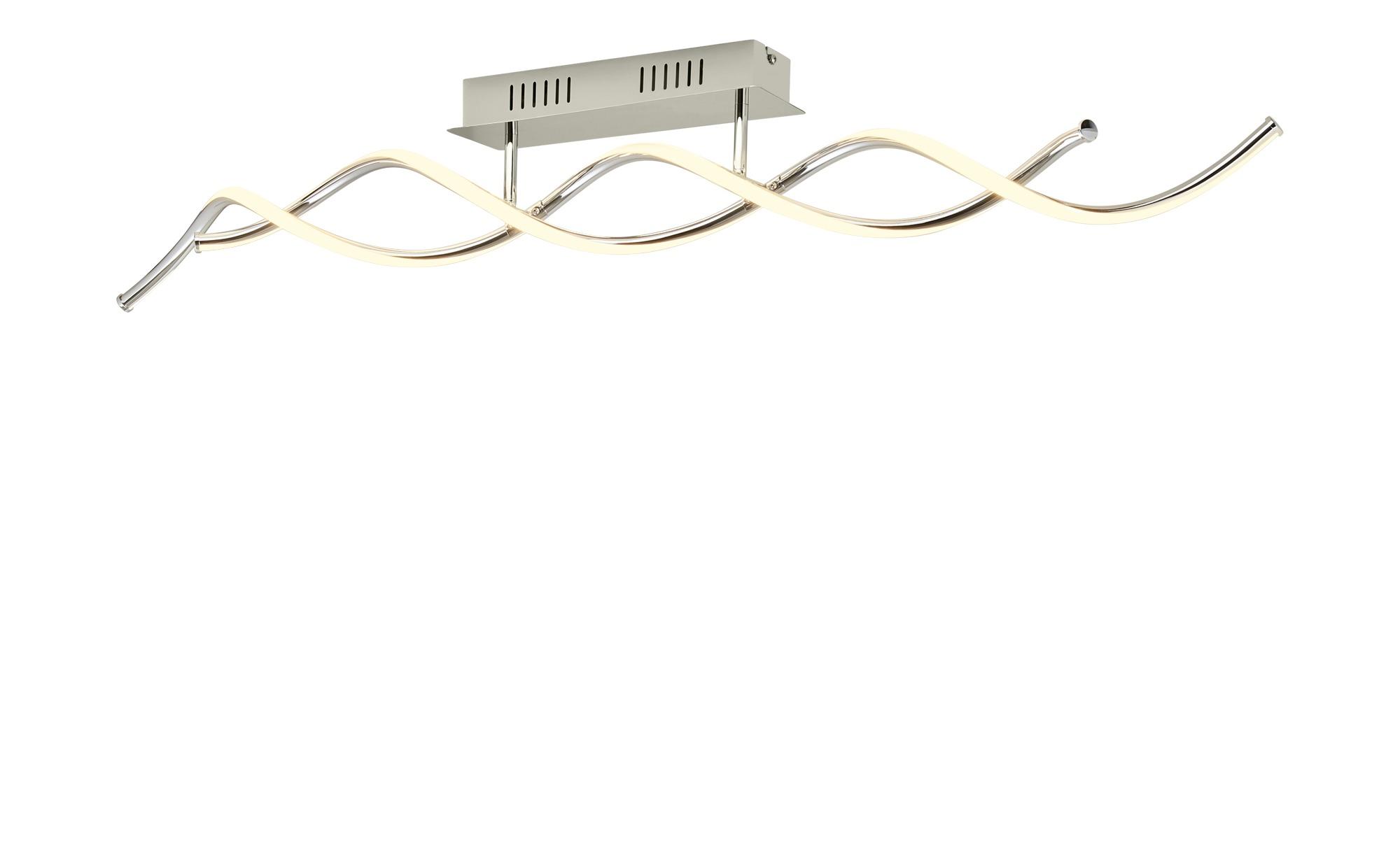 KHG LED-Deckenleuchte, 2-flammig ¦ silber ¦ Maße (cm): B: 8,5 H: 15 Lampen & Leuchten > Innenleuchten > Deckenleuchten - Höffner