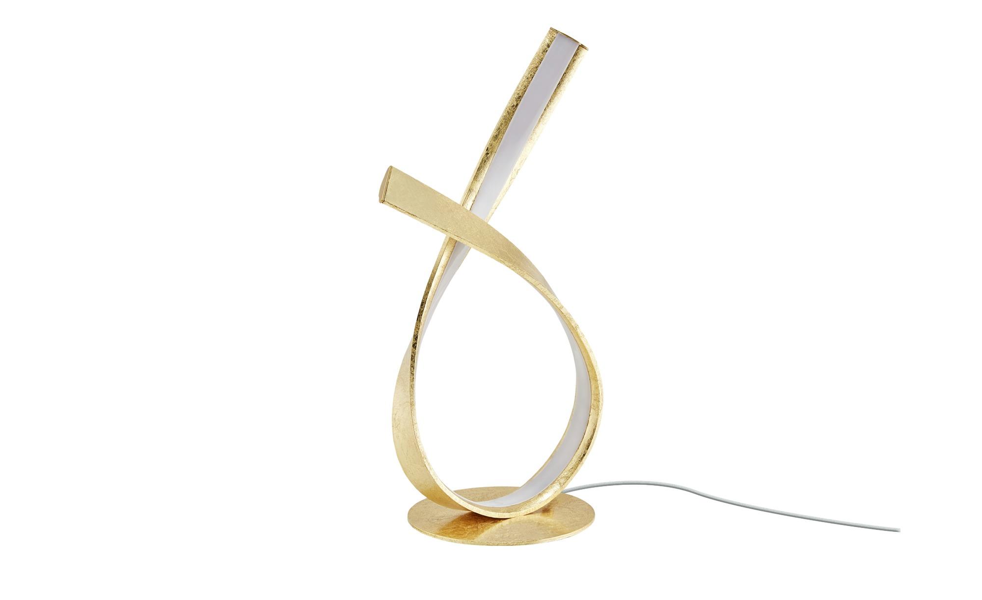 Paul Neuhaus LED-Tischleuchte, goldfarben ¦ gold ¦ Maße (cm): B: 15 H: 40 Lampen & Leuchten > Innenleuchten > Tischlampen - Höffner