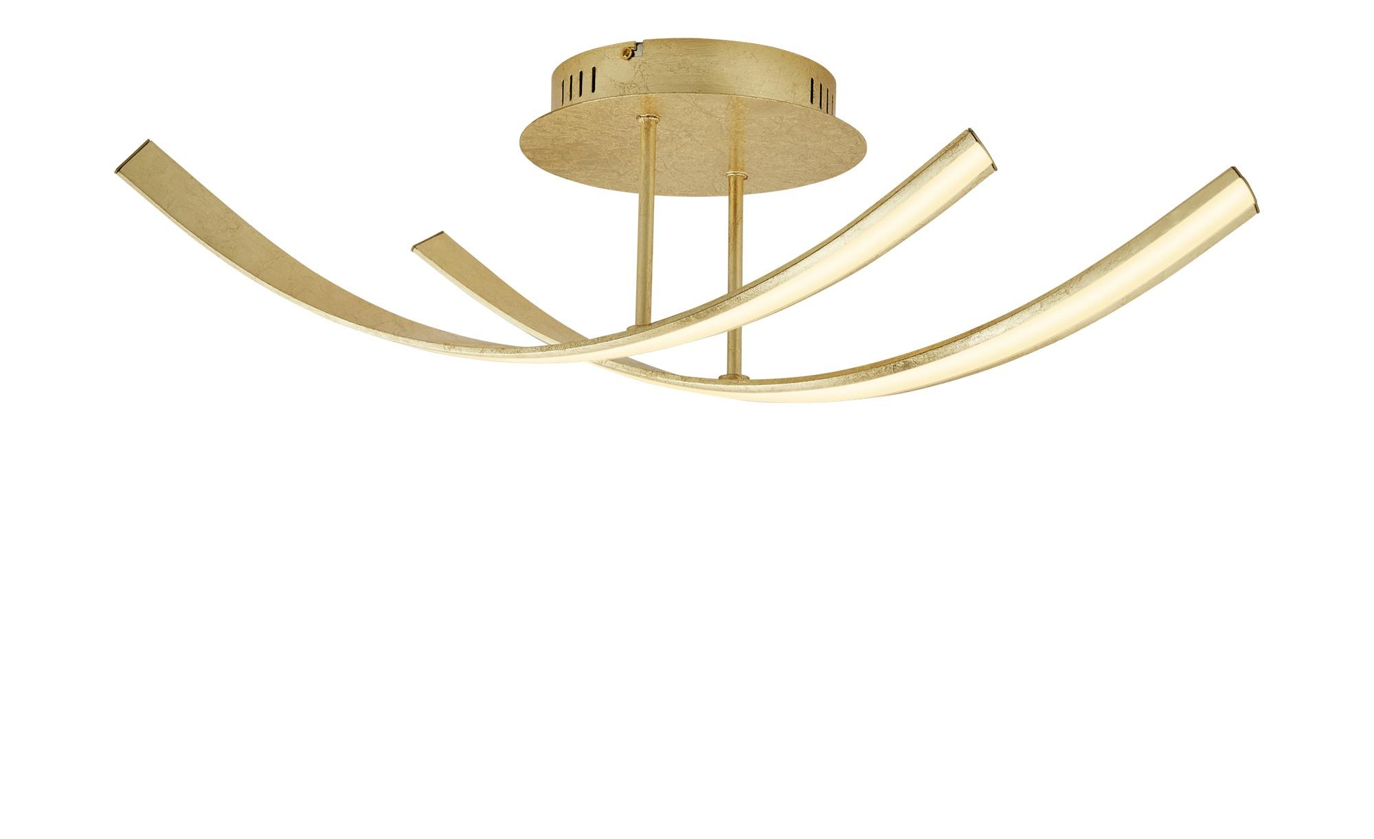 Paul Neuhaus LED-Deckenleuchte, 2-flammig, goldfarben ¦ gold ¦ Maße (cm): B: 22 H: 20 Lampen & Leuchten > Innenleuchten > Deckenleuchten - Höffner