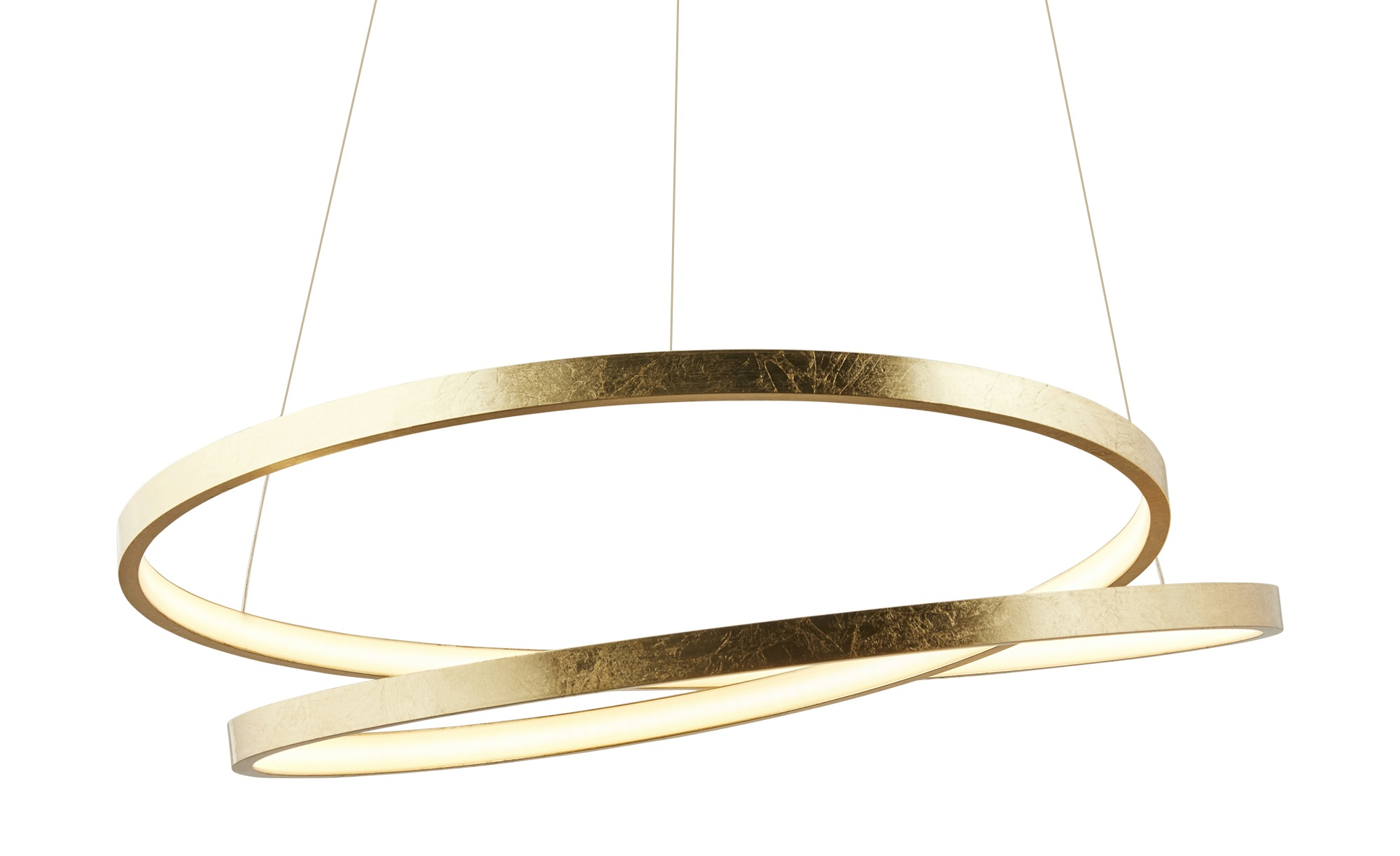 Paul Neuhaus LED-Pendelleuchte, 1-flammig, goldfarben ¦ gold ¦ Maße (cm): H: 120 Ø: 55 Lampen & Leuchten > LED-Leuchten > LED-Pendelleuchten - Höffner