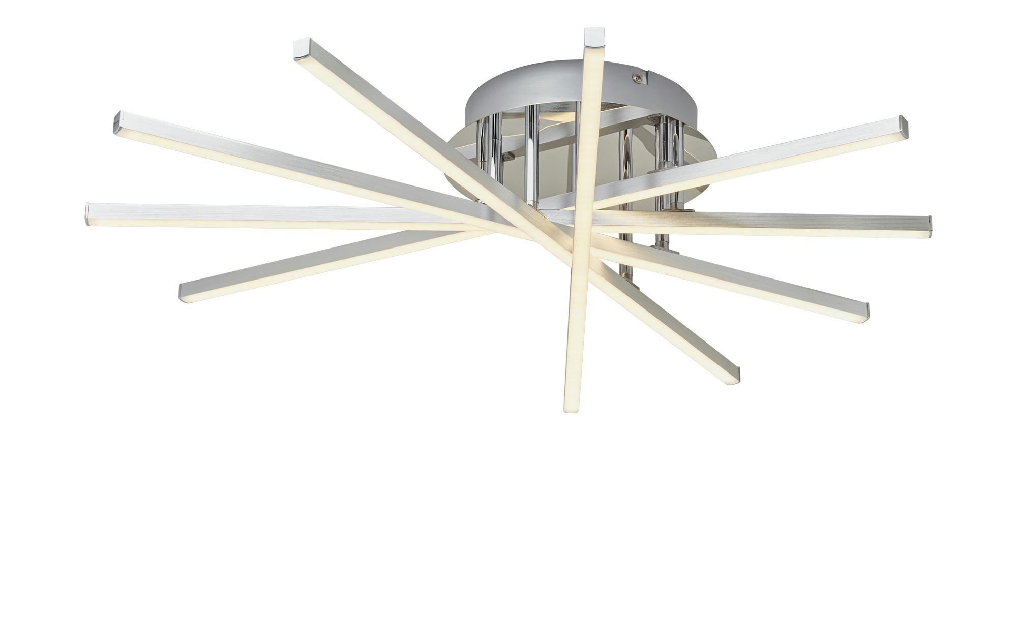 KHG LED-Deckenleuchte, 5-flammig ¦ silber ¦ Maße (cm): B: 61 H: 13,5 Lampen & Leuchten > Innenleuchten > Deckenleuchten - Höffner