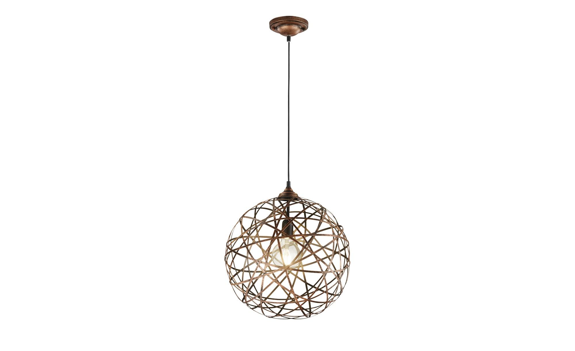 Trio Pendelleuchte, Drahtkugel kupferfarben ¦ kupferØ: [40.0] Lampen & Leuchten > LED-Leuchten > LED-Pendelleuchten - Höffner