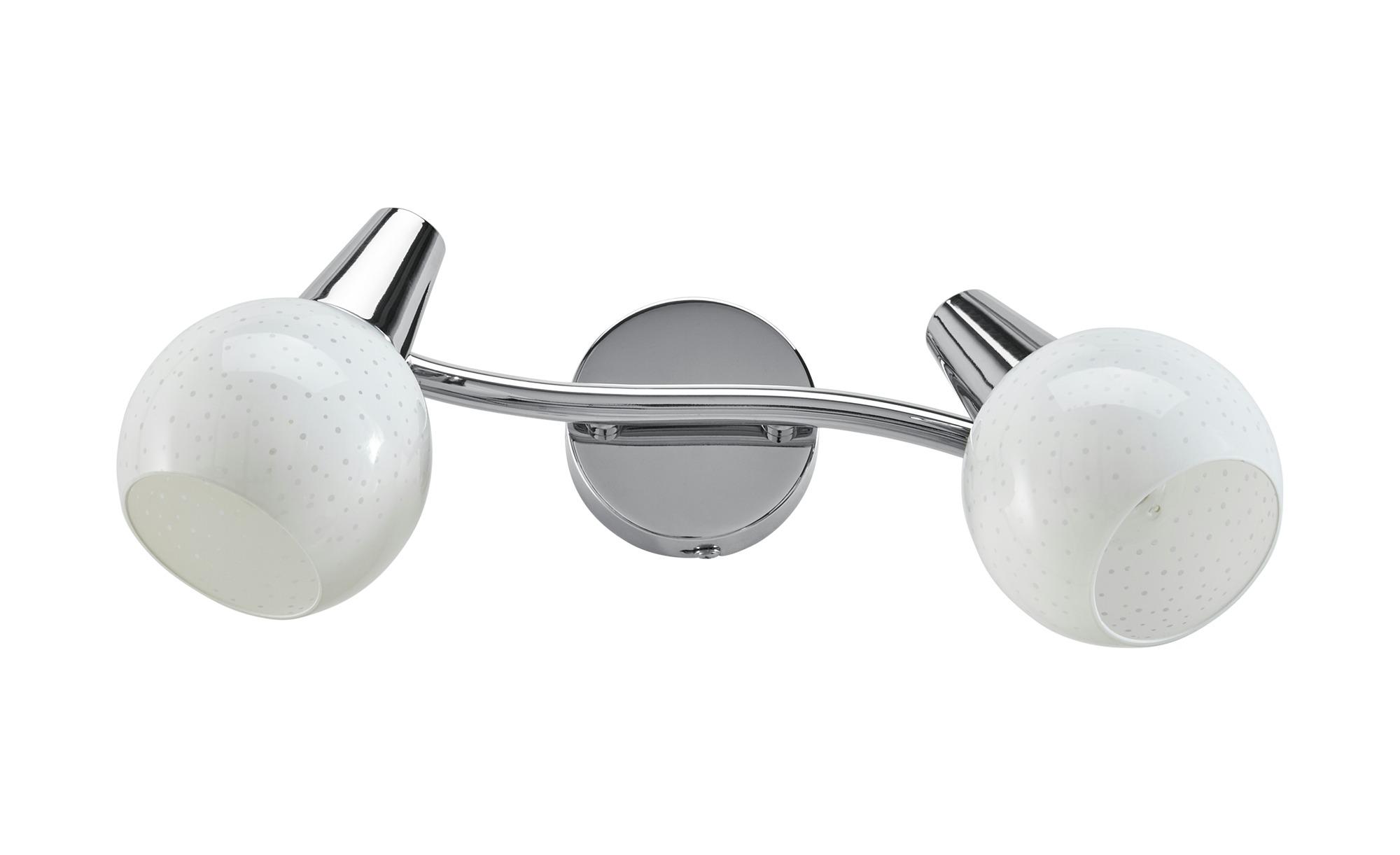 Deckenstrahler, 2-flammig ¦ silber Lampen & Leuchten > LED-Leuchten > LED-Strahler & Spots - Höffner