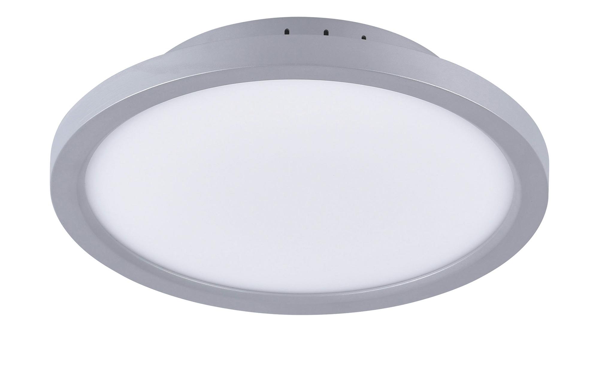 Paul Neuhaus LED-Deckenleuchte, 1-flammig, silberfarben ¦ silber ¦ Maße (cm): H: 5,6 Ø: [30.0] Lampen & Leuchten > Innenleuchten > Deckenleuchten - Höffner