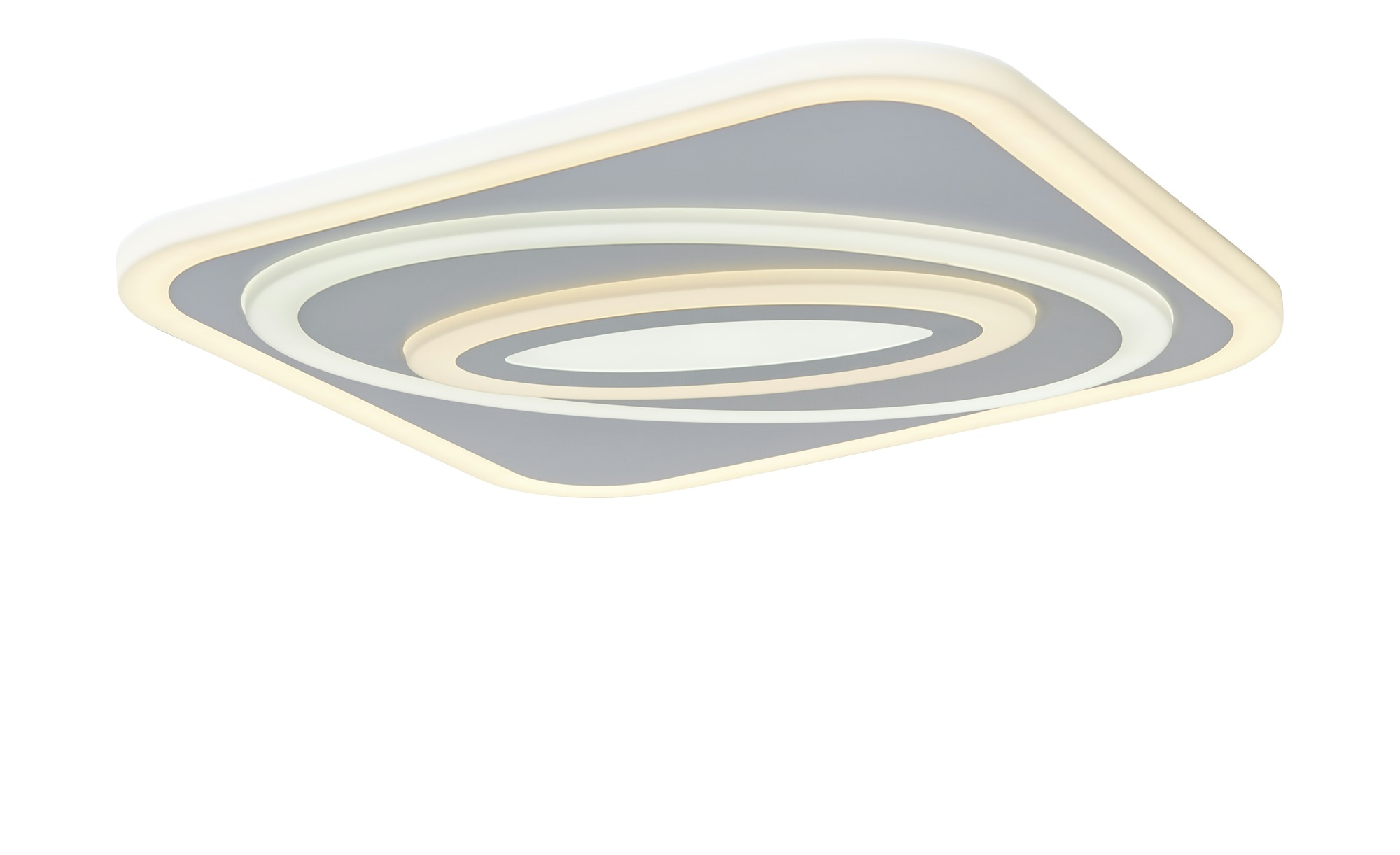 Trio LED-Deckenleuchte mit Fernbedienung ¦ weiß ¦ Maße (cm): B: 55 Lampen & Leuchten > Innenleuchten > Deckenleuchten - Höffner