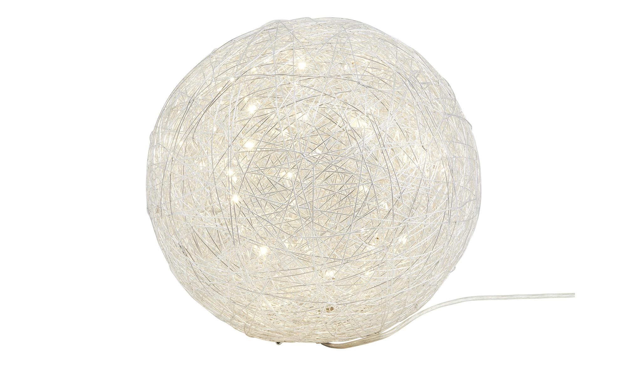 Trio LED-Tischleuchte, Alu-Drahtgeflecht ¦ silberØ: [30.0] Lampen & Leuchten > Innenleuchten > Tischlampen - Höffner