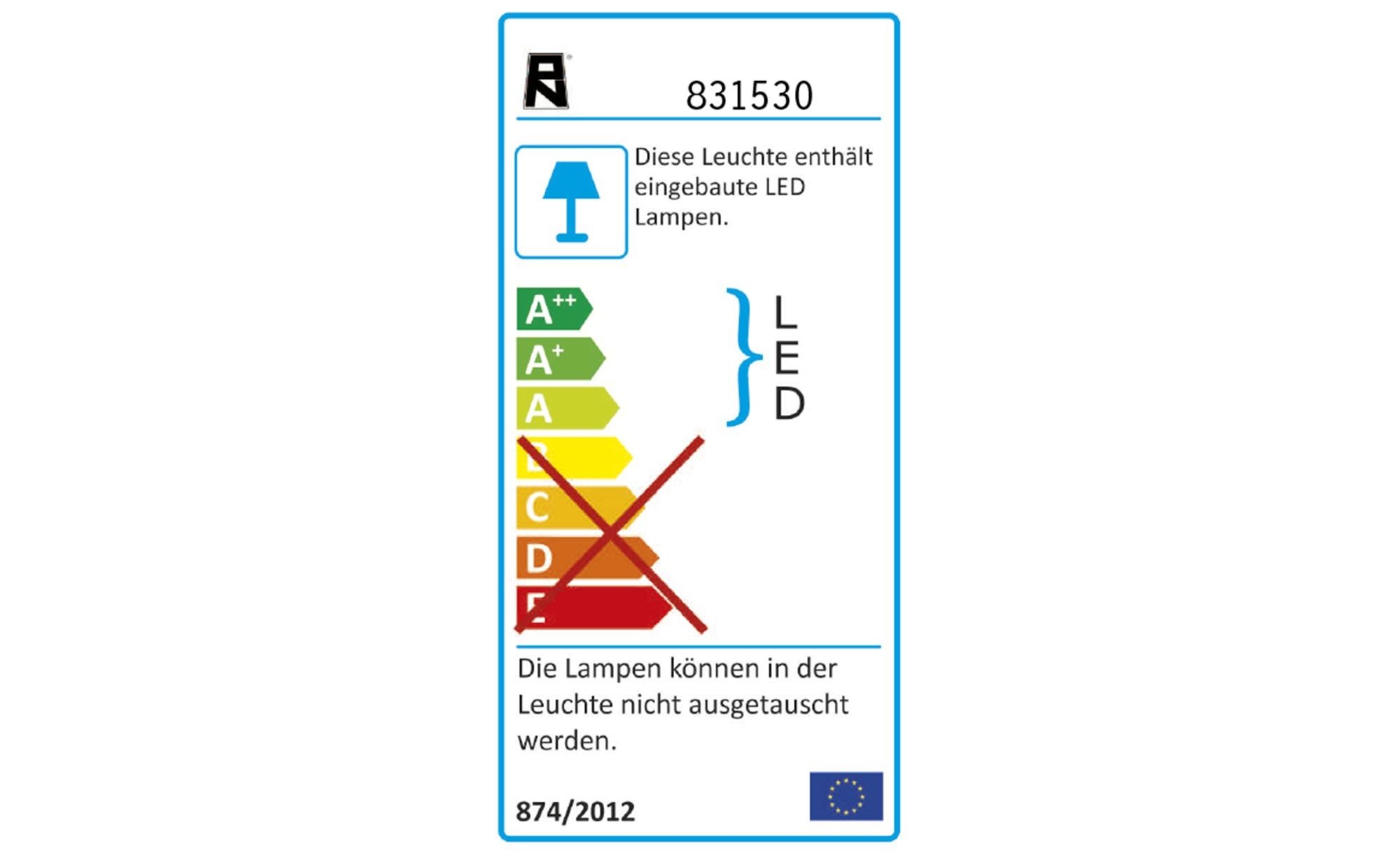 Paul Neuhaus LED-Wandleuchte ¦ silber ¦ Maße (cm): B: 4 H: 4,5 Lampen & Leuchten > Innenleuchten > Wandleuchten - Höffner