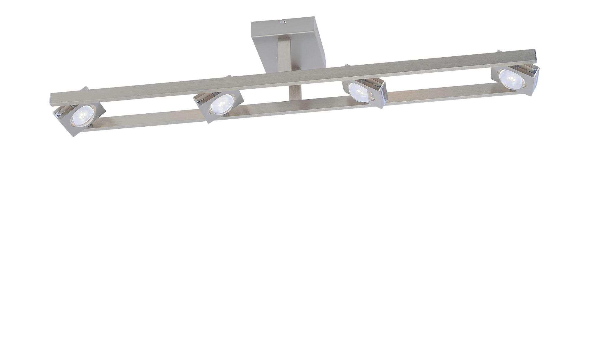 Q-Smart Home Lights Deckenleuchte, 8-flammig, nickel mat ¦ silber ¦ Maße (cm): B: 16,5 H: 18 Lampen & Leuchten > Innenleuchten > Deckenleuchten - Höffner