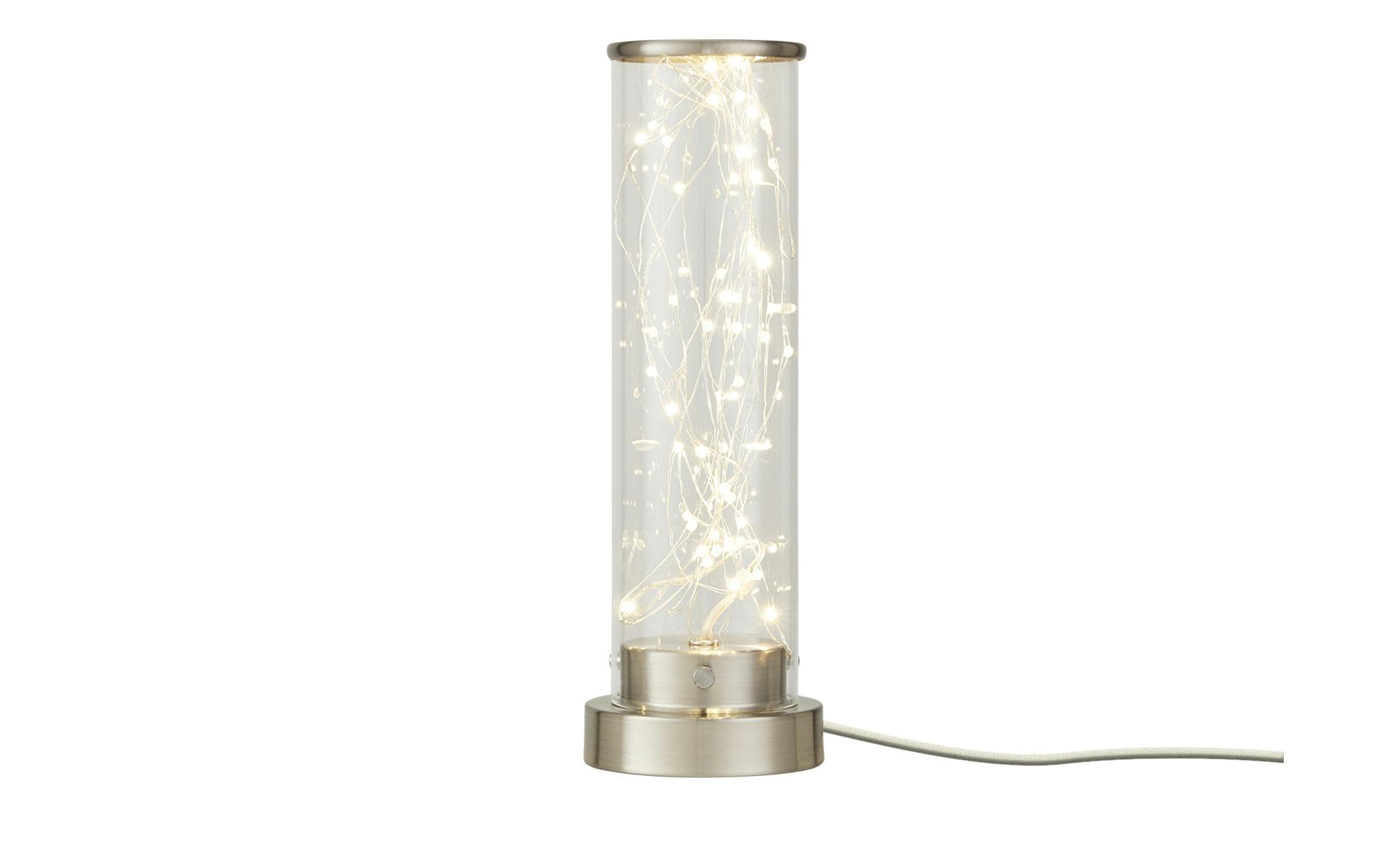 LED-Tischleuchte mit Lichterkette ¦ silber ¦ Maße (cm): H: 30 Lampen & Leuchten > Innenleuchten > Tischlampen - Höffner