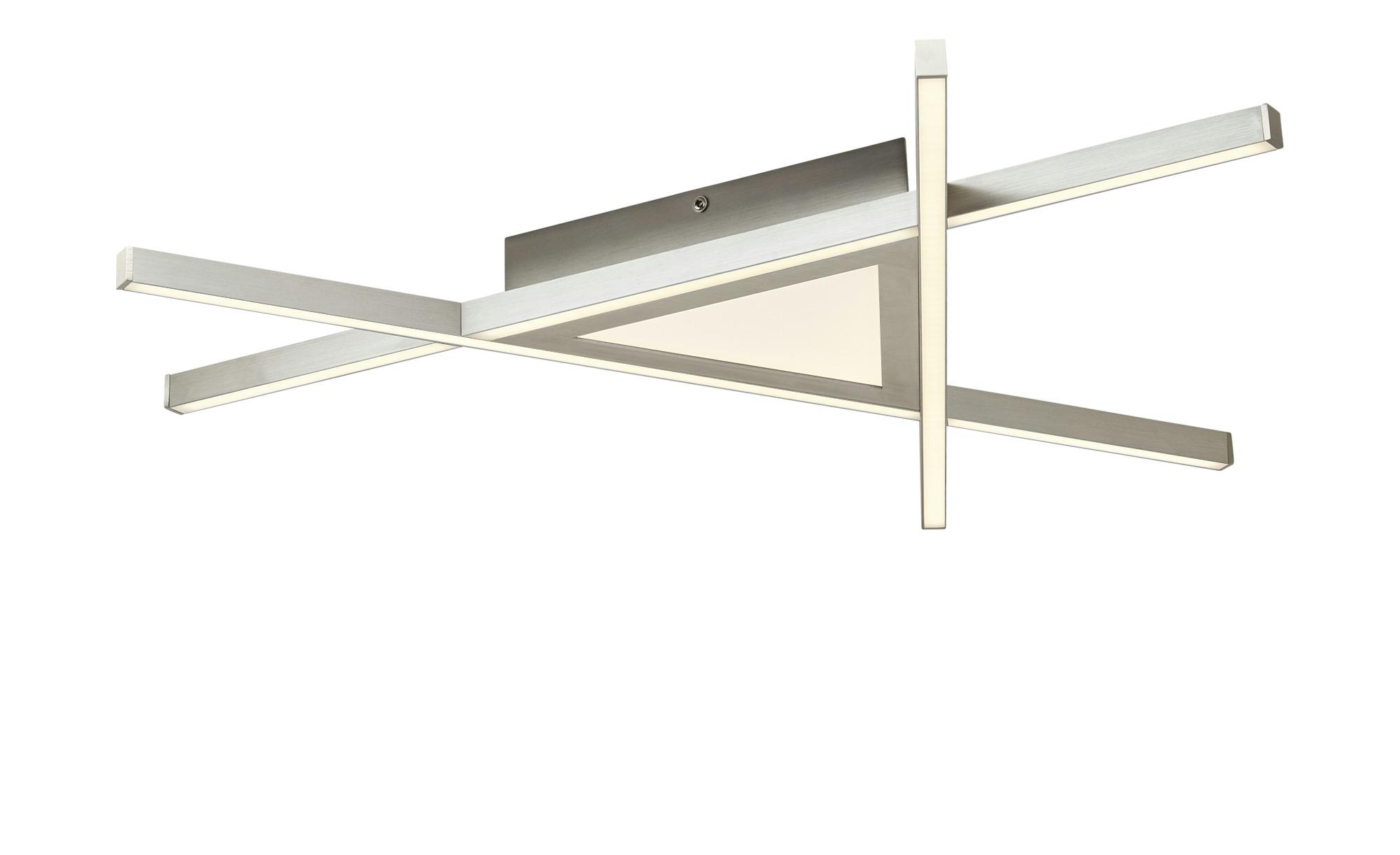 LED-Deckenleuchte mit Fernbedienung ¦ silber ¦ Maße (cm): B: 58 Lampen & Leuchten > Innenleuchten > Deckenleuchten - Höffner