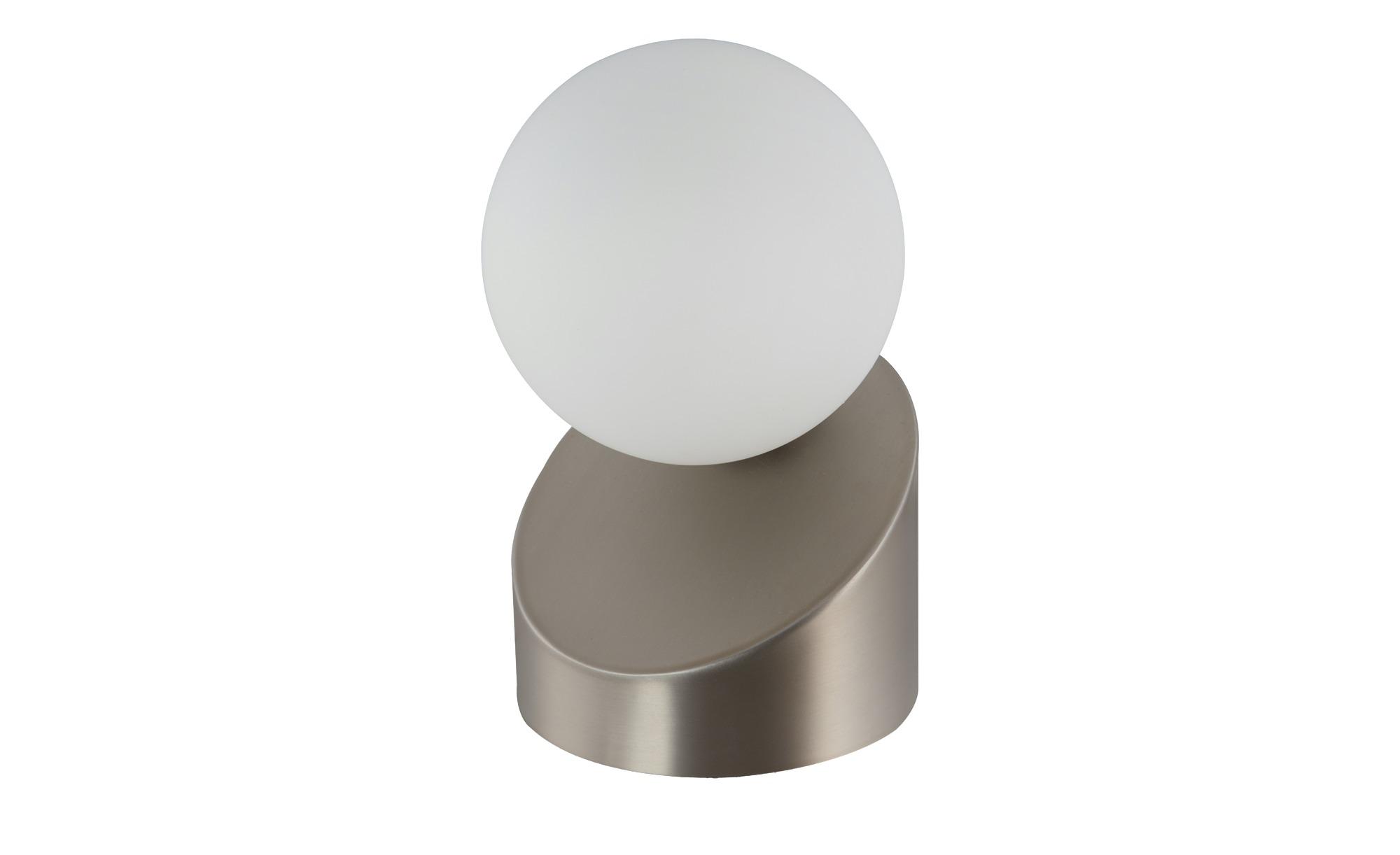 Tischleuchte, nickel matt mit Touchschalter ¦ silber ¦ Maße (cm): H: 16 Lampen & Leuchten > Innenleuchten > Tischlampen - Höffner