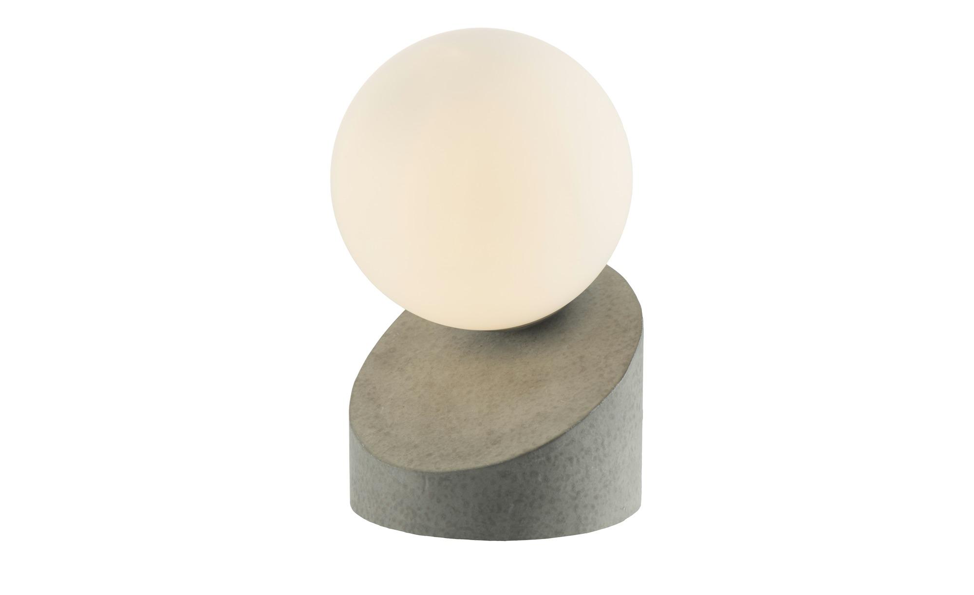 Tischleuchte, Betonoptik mit Touchschalter ¦ grau ¦ Maße (cm): H: 16 Lampen & Leuchten > Innenleuchten > Tischlampen - Höffner