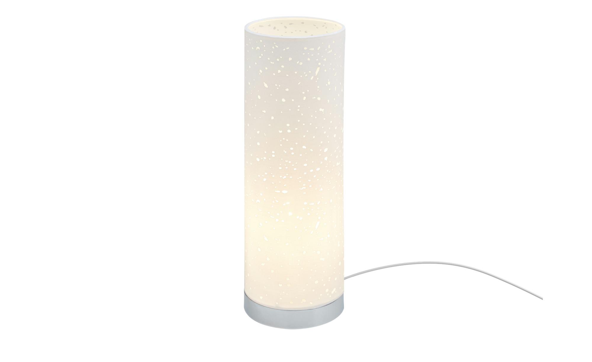 Fischer-Honsel Tischleuchte, 1-flammig, Weiß ¦ weiß ¦ Maße (cm): H: 35 Ø: [12.0] Lampen & Leuchten > Innenleuchten > Tischlampen - Höffner