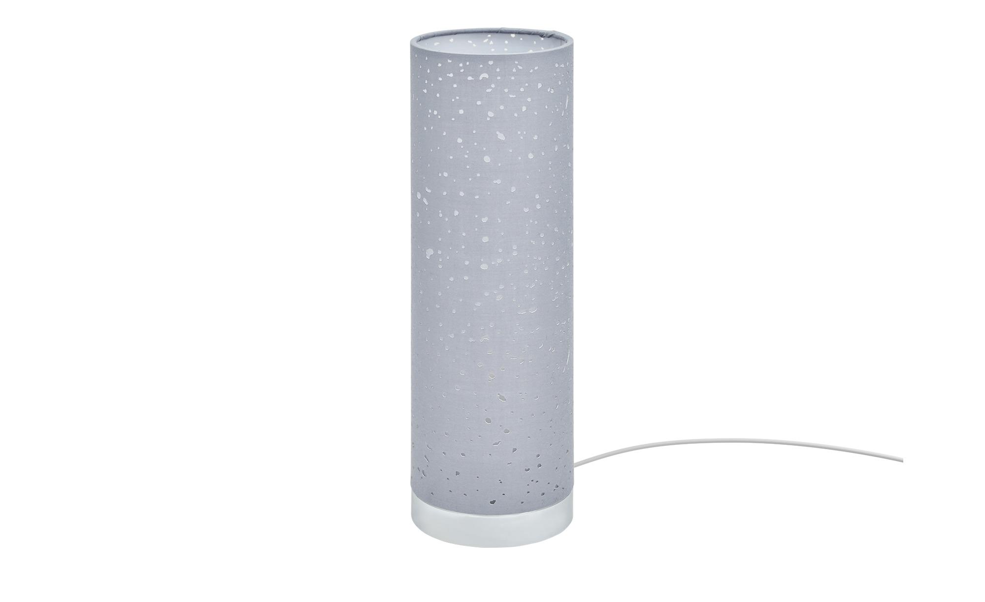 Fischer-Honsel Tischleuchte, 1-flammig, Grau ¦ grau ¦ Maße (cm): H: 35 Ø: [12.0] Lampen & Leuchten > Innenleuchten > Tischlampen - Höffner