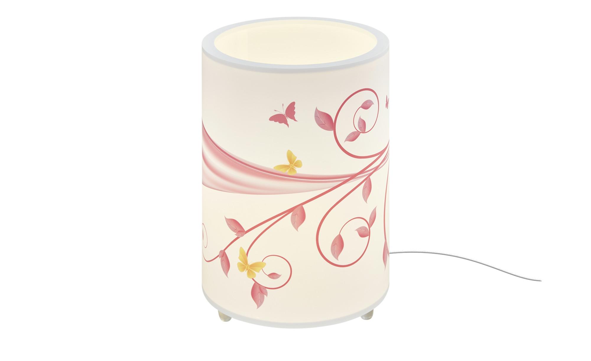 Tischleuchte, Rosa  ´Fantasie´ ¦ rosa/pink ¦ Maße (cm): H: 25 Ø: [20.0] Lampen & Leuchten > Innenleuchten > Kinderlampen - Höffner