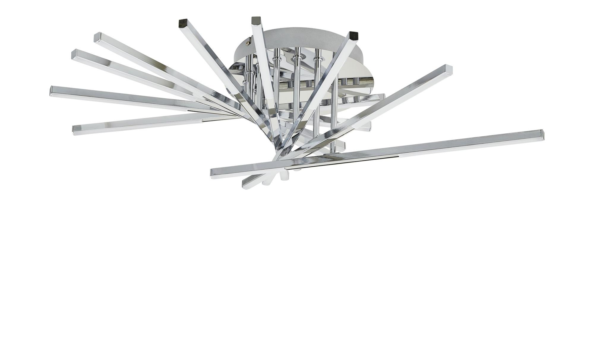 ML LED-Deckenleuchte, chrom, Arme verstellbar ¦ silber ¦ Maße (cm): H: 20 Ø: [67.0] Lampen & Leuchten > Innenleuchten > Deckenleuchten - Höffner