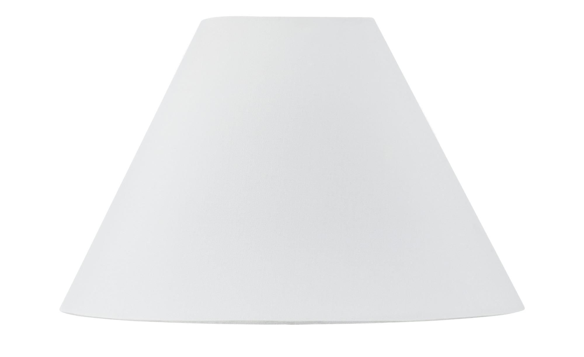 for friends Lampenschirm für Tischleuchtenfuß ¦ weiß ¦ Maße (cm): H: 15 5 Ø: 22.5 Lampen & Leuchten > Innenleuchten > Lampen Zubehör - Höffner   Lampen > Lampenschirme und Füsse   Möbel Höffner DE